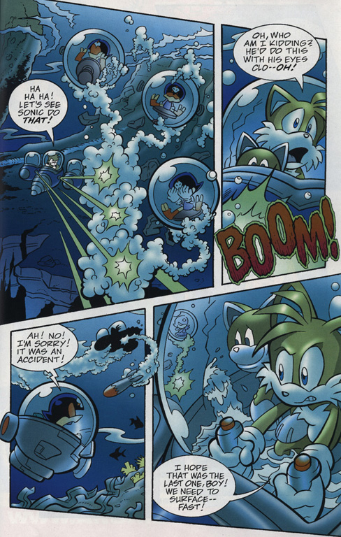 Read online Sonic Universe comic -  Issue #18 - 19
