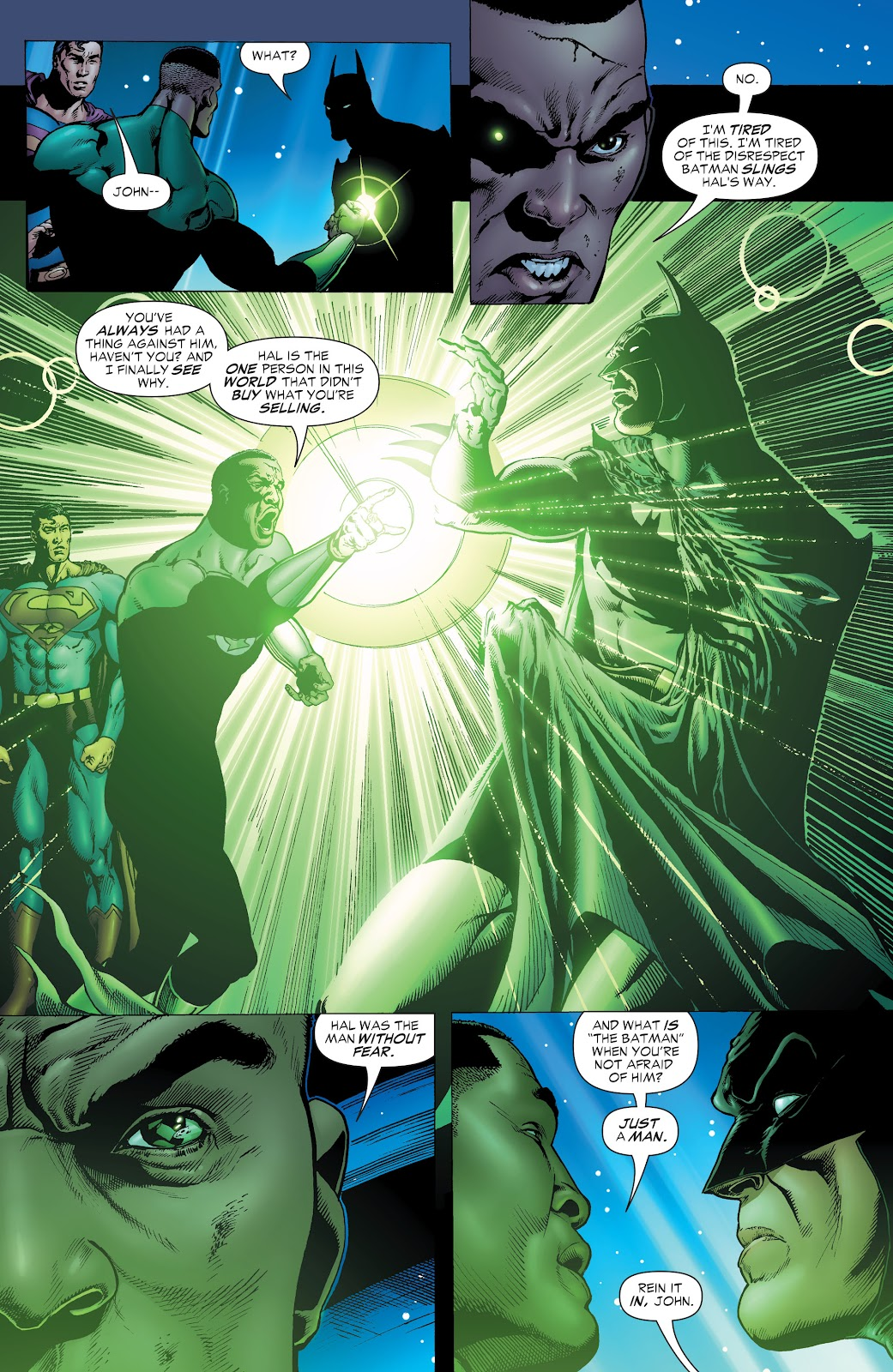 Read online Green Lantern by Geoff Johns comic -  Issue # TPB 1 (Part 1) - 38