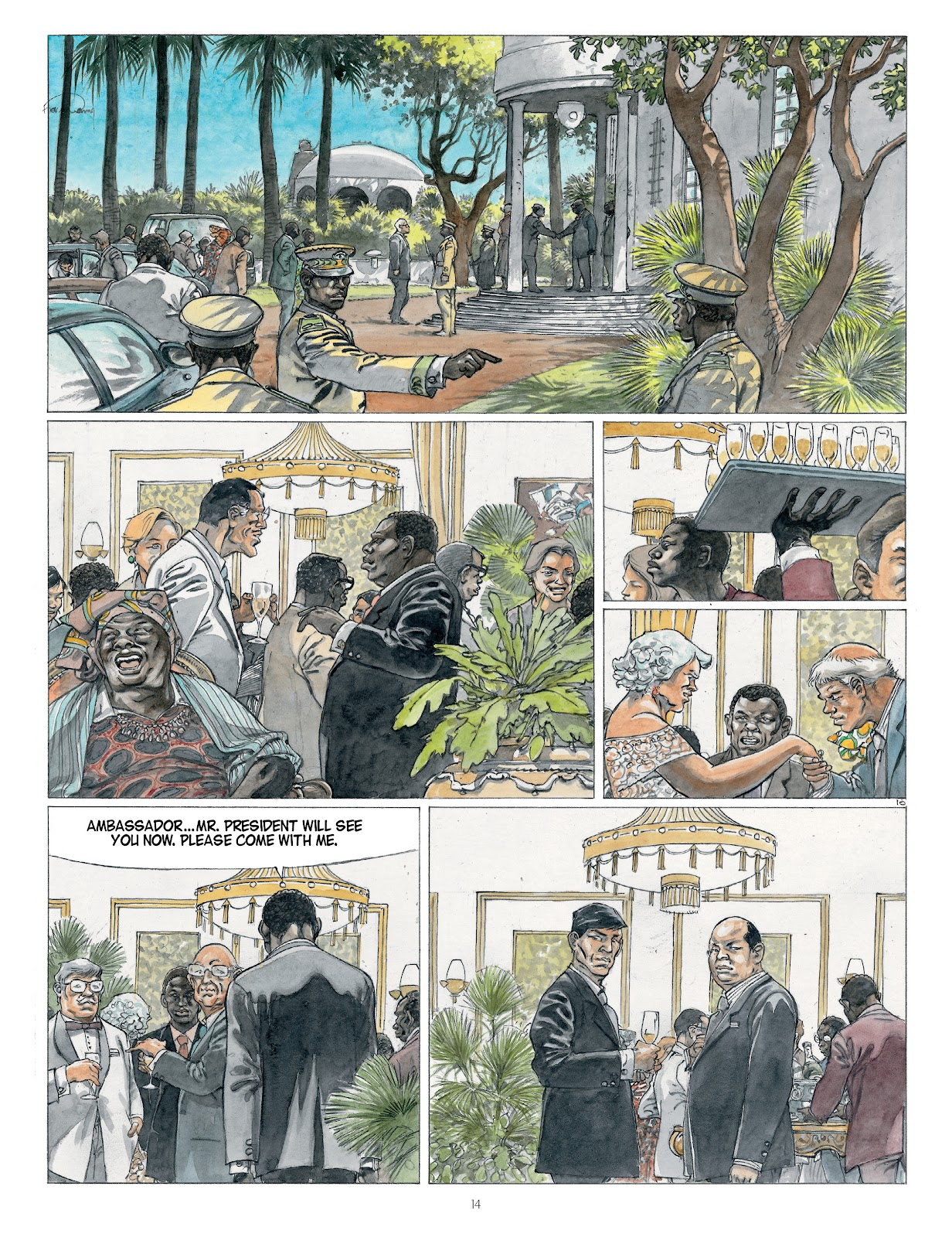 Read online Afrika comic -  Issue # TPB - 14