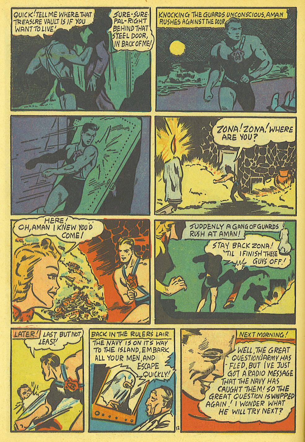 Read online Amazing Man Comics comic -  Issue #19 - 14