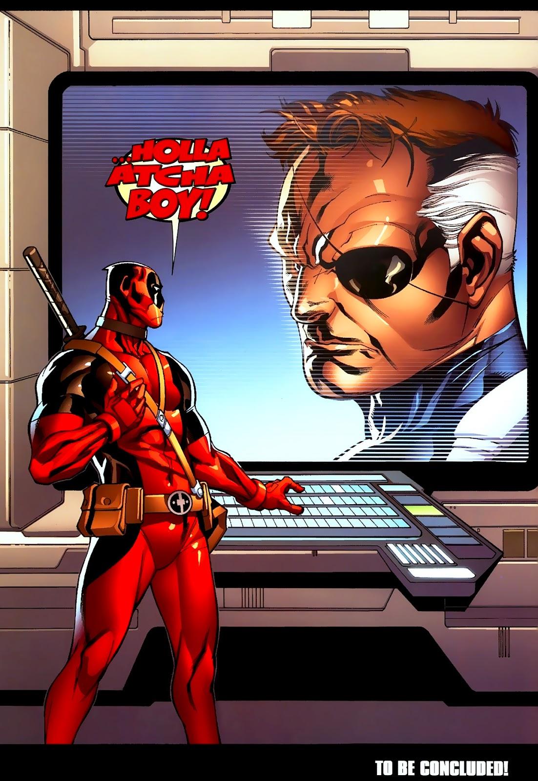 Read online Deadpool (2008) comic -  Issue #2 - 23