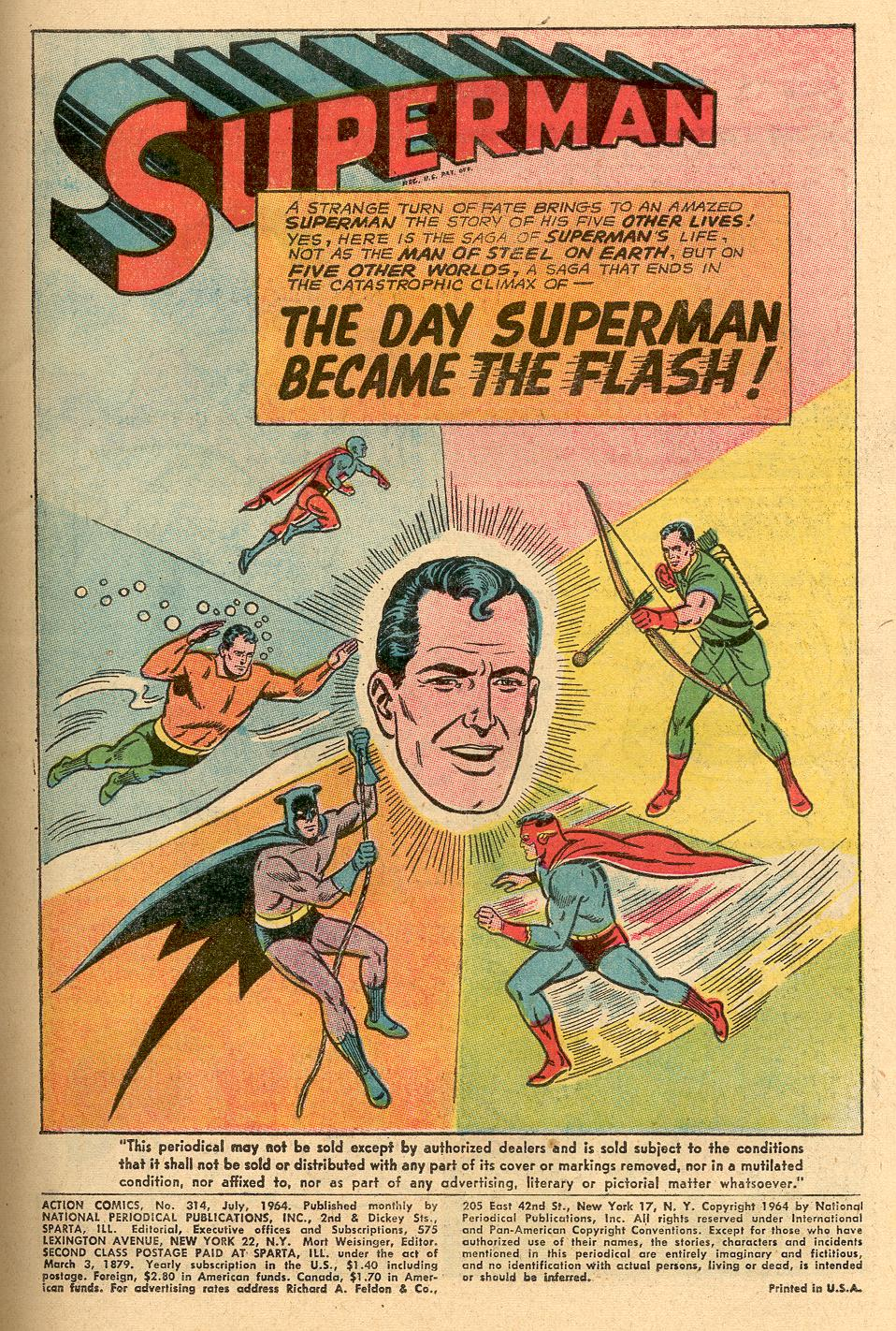Read online Action Comics (1938) comic -  Issue #314 - 2