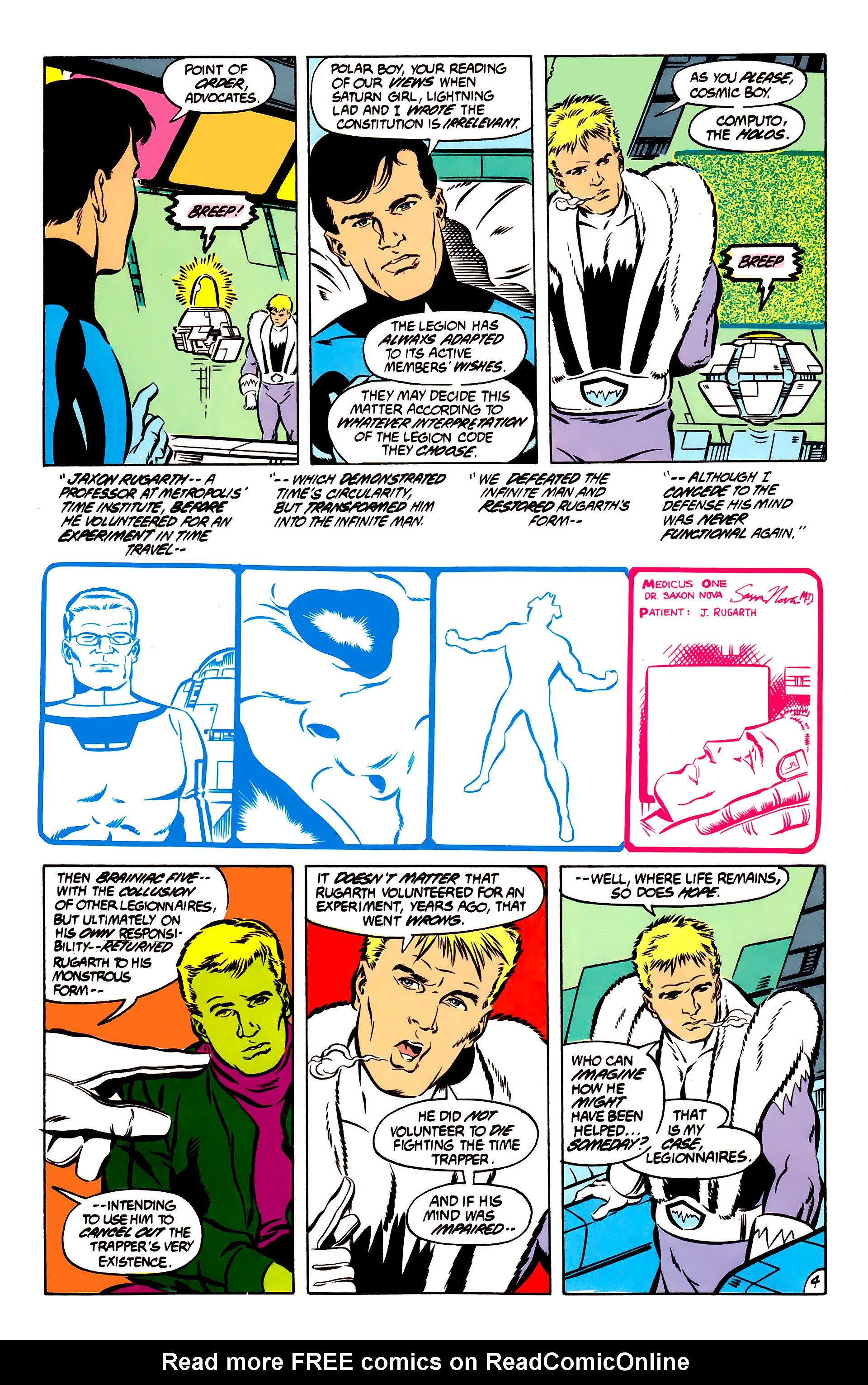 Legion of Super-Heroes (1984) 51 Page 4