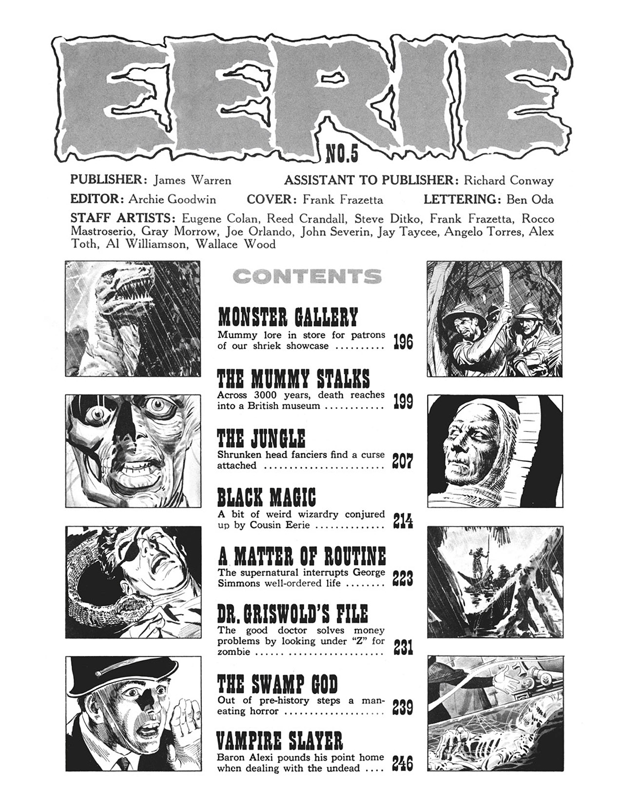 Read online Eerie Archives comic -  Issue # TPB 1 - 198