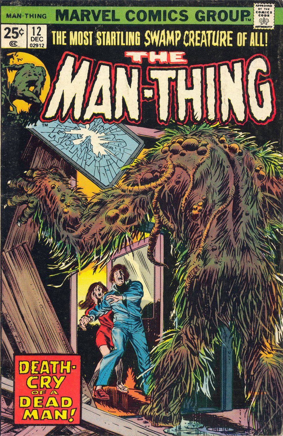 Man-Thing (1974) 12 Page 1