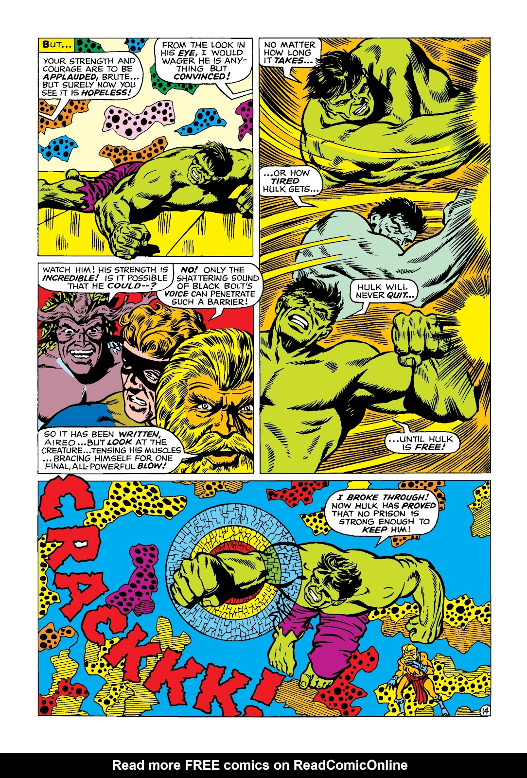 Read online Marvel Masterworks: The Incredible Hulk comic -  Issue # TPB 4 (Part 2) - 47