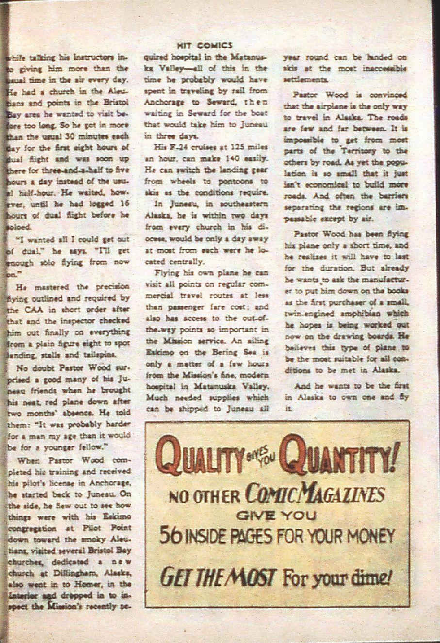 Read online Hit Comics comic -  Issue #37 - 45