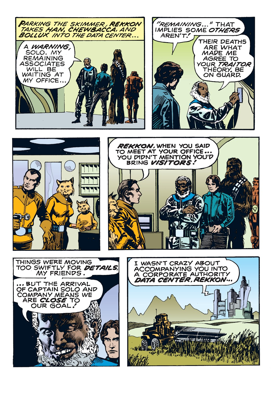 Read online Star Wars Legends: The Newspaper Strips - Epic Collection comic -  Issue # TPB (Part 4) - 26