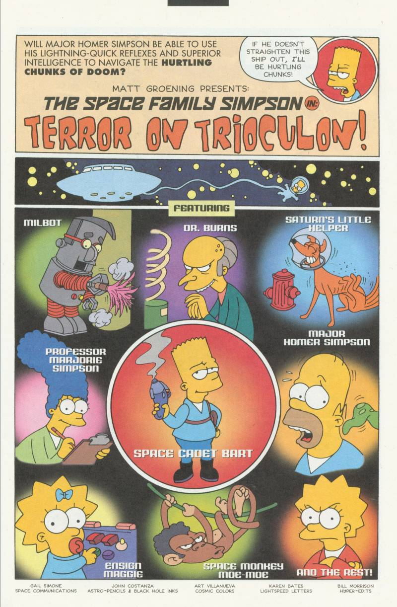 Read online Simpsons Comics Presents Bart Simpson comic -  Issue #3 - 5