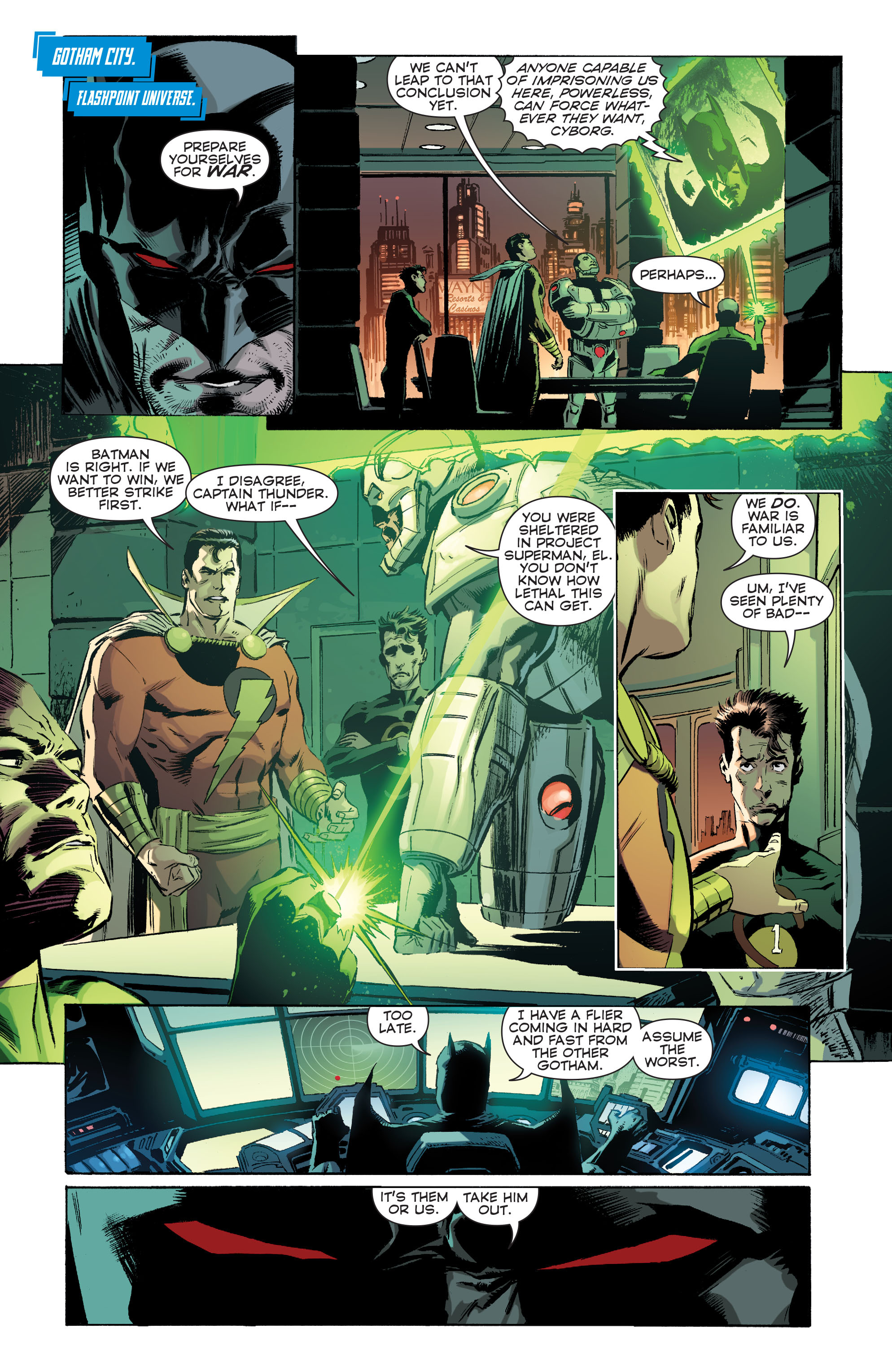 Read online Convergence Superman comic -  Issue #1 - 14