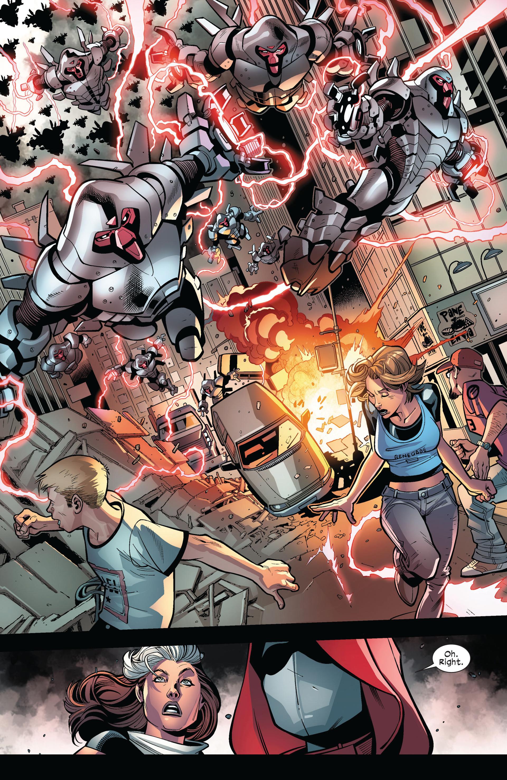 Read online Ultimate Comics X-Men comic -  Issue #6 - 6