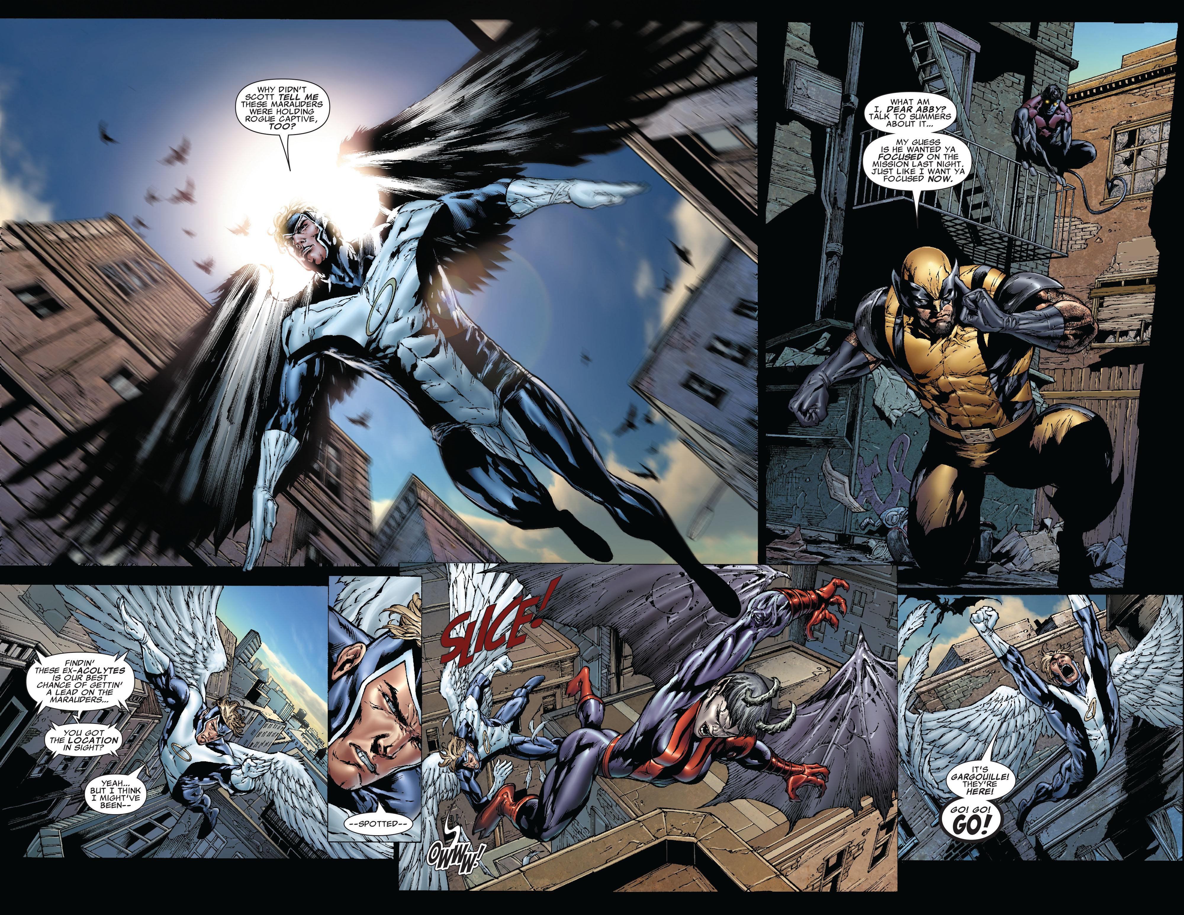 Read online Uncanny X-Men (1963) comic -  Issue #492 - 9