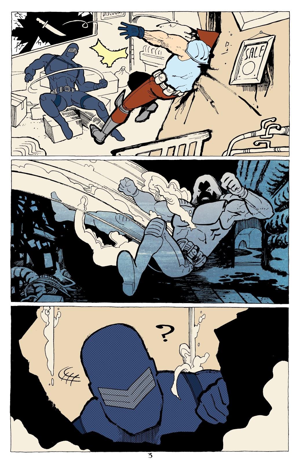 Read online G.I. Joe: Sierra Muerte comic -  Issue #2 - 5