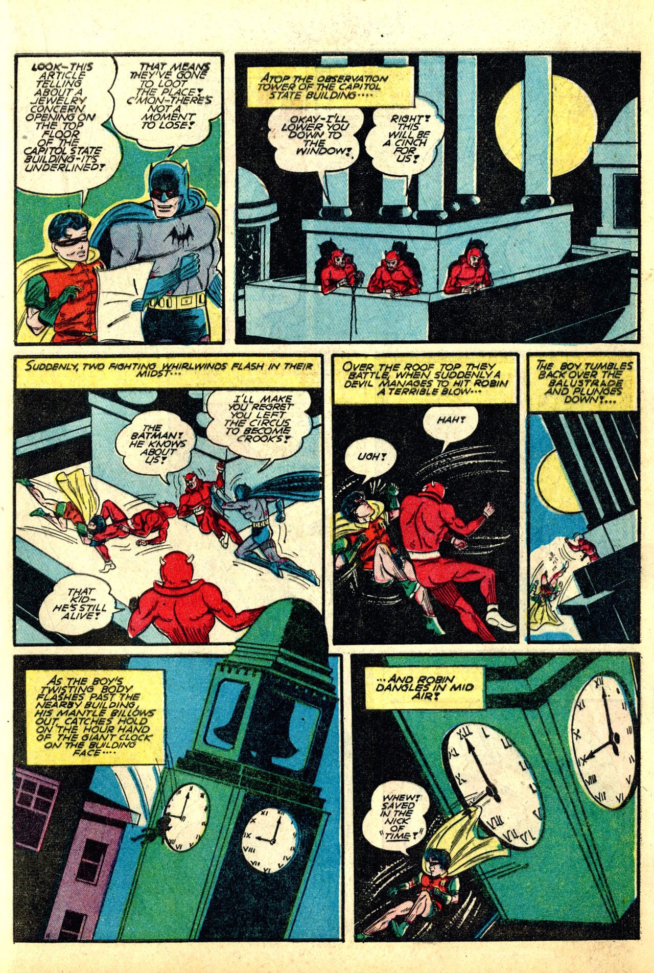 Read online Detective Comics (1937) comic -  Issue #50 - 13