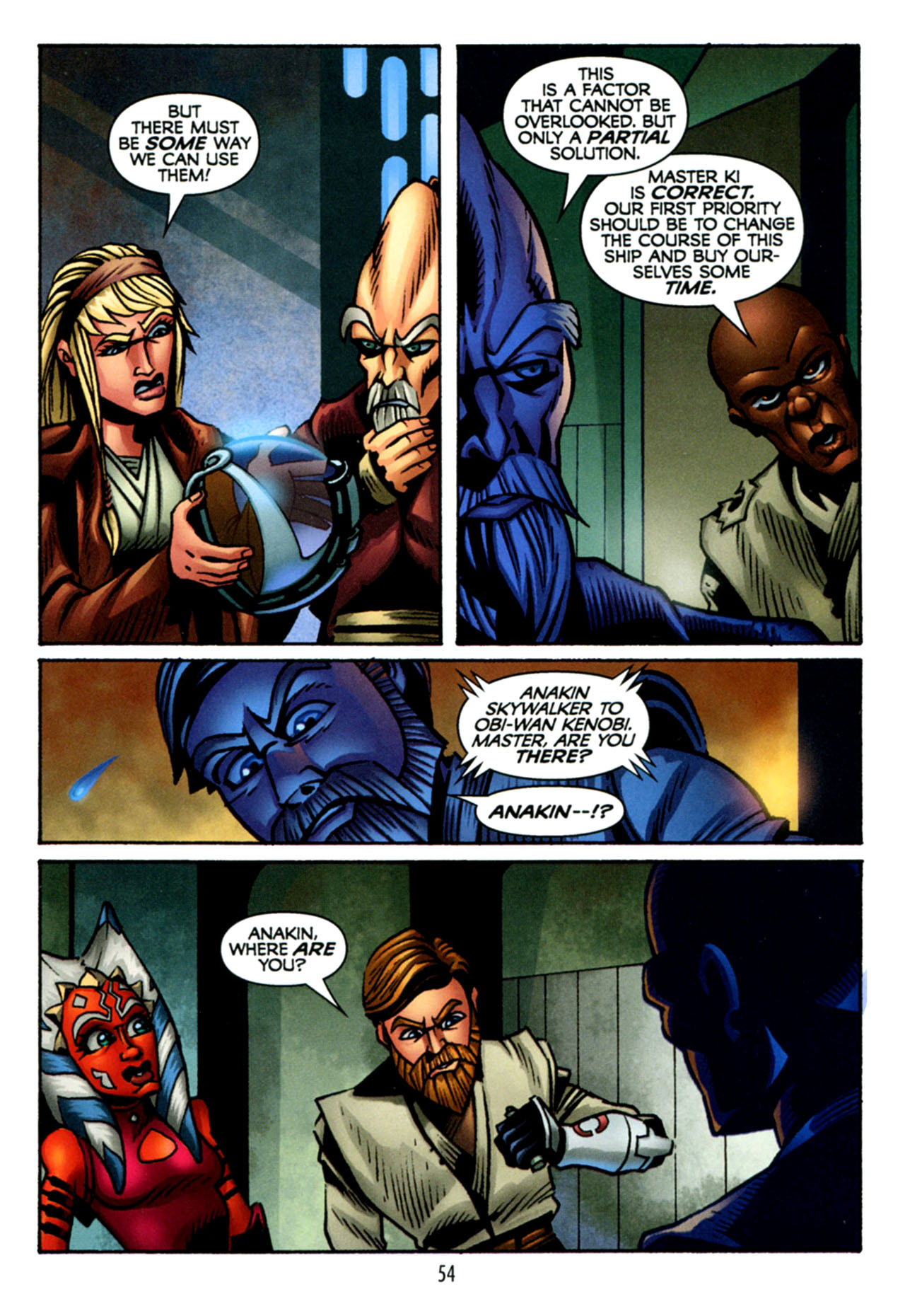 Read online Star Wars: The Clone Wars - The Starcrusher Trap comic -  Issue # Full - 55
