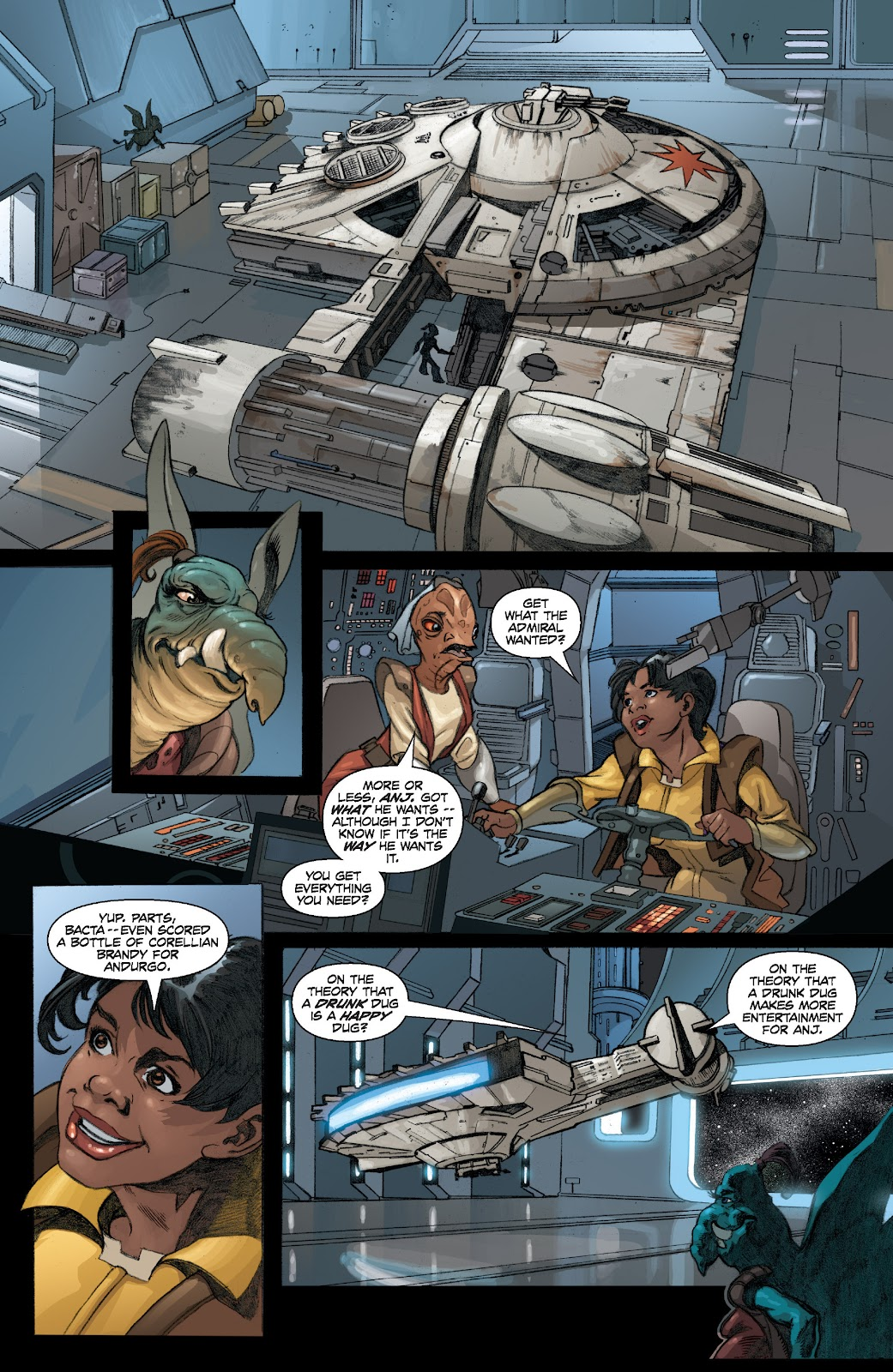 Read online Star Wars Legends: Legacy - Epic Collection comic -  Issue # TPB 2 (Part 1) - 15
