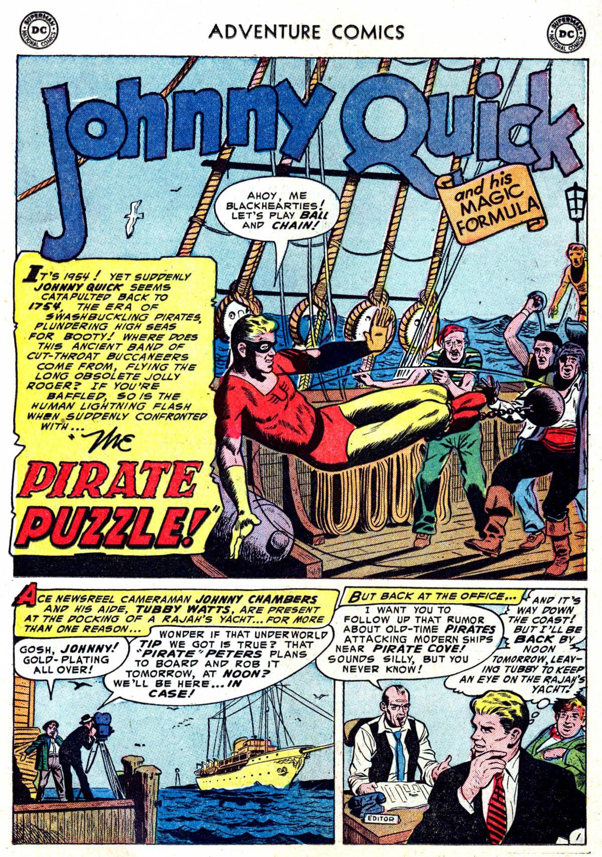 Read online Adventure Comics (1938) comic -  Issue #199 - 21