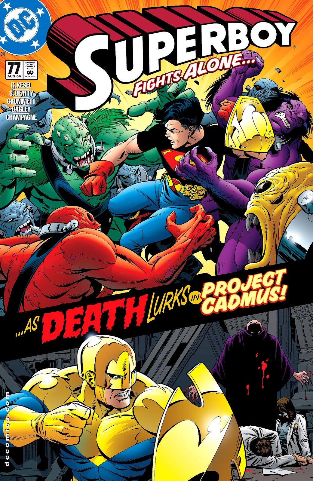 Superboy (1994) 77 Page 1