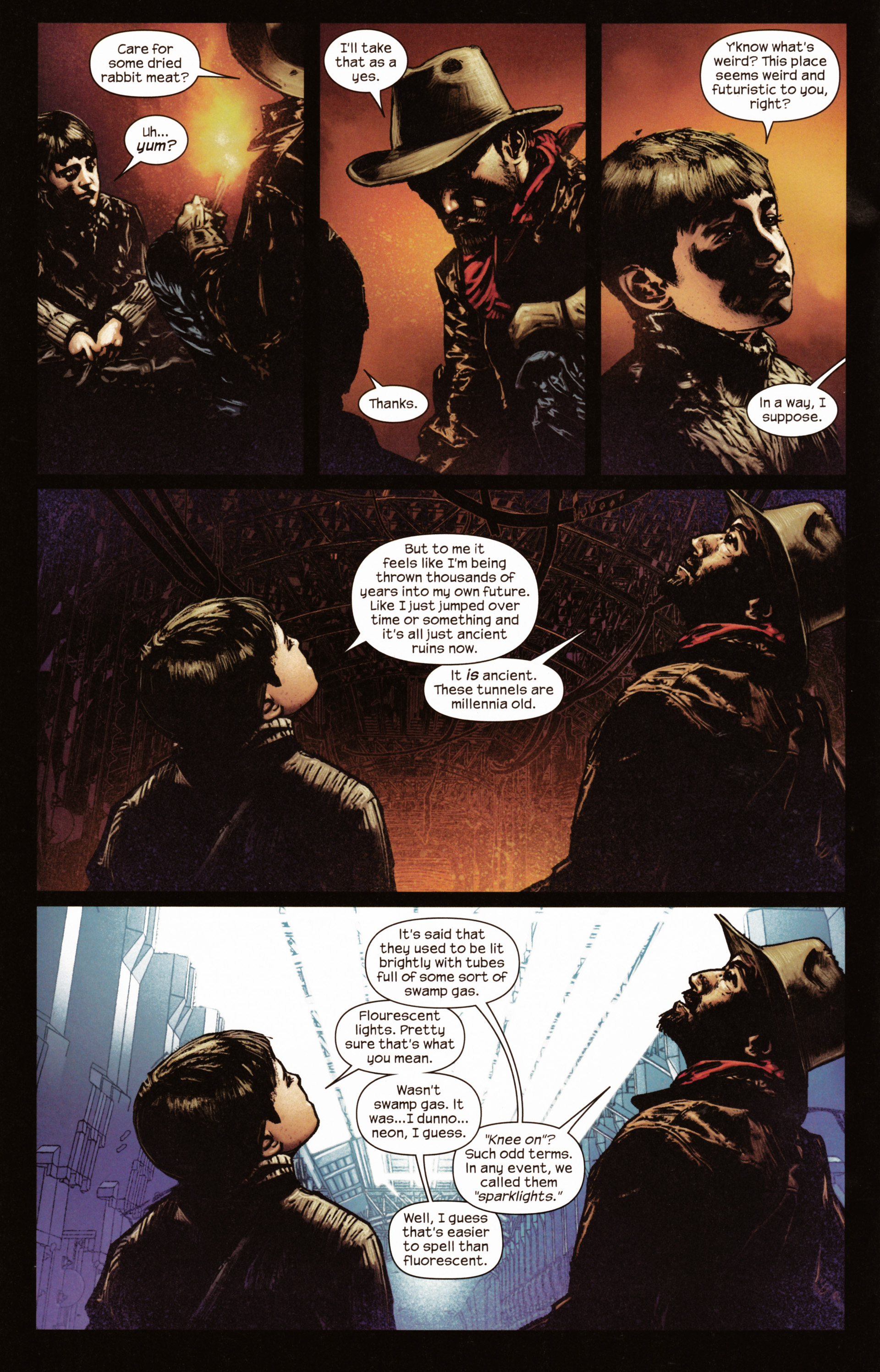 Read online Dark Tower: The Gunslinger - The Man in Black comic -  Issue #2 - 9