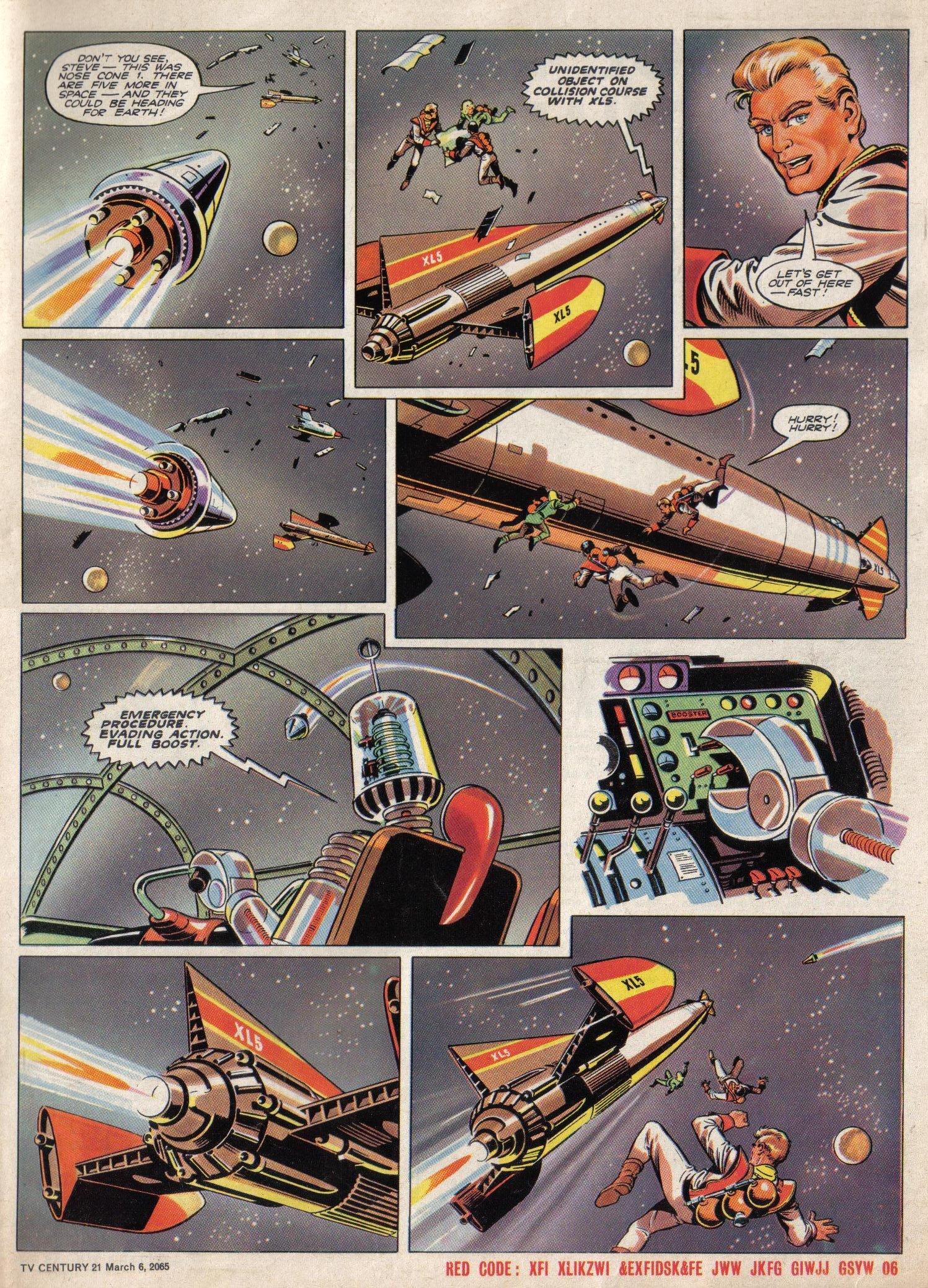 Read online TV Century 21 (TV 21) comic -  Issue #7 - 5