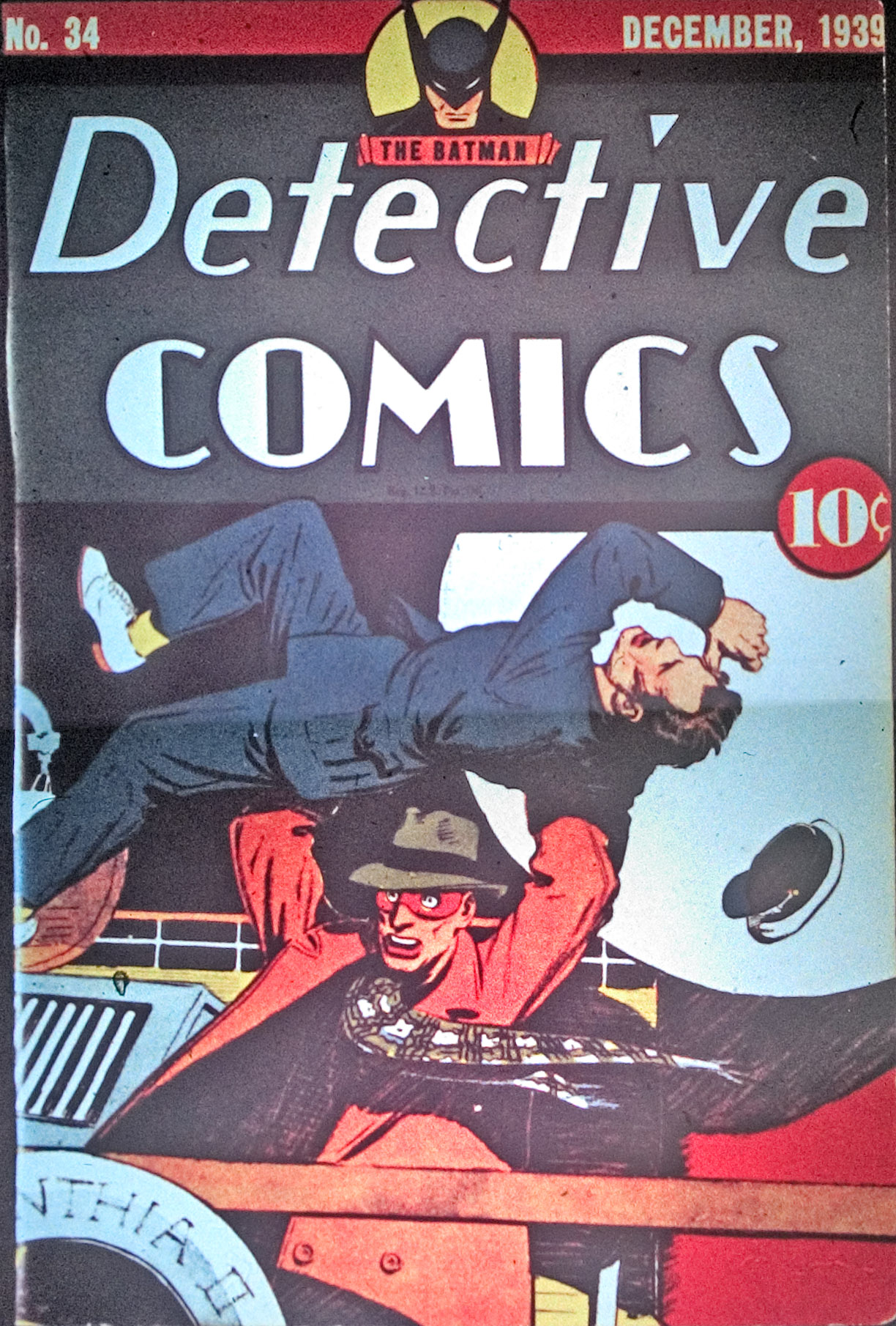 Read online Detective Comics (1937) comic -  Issue #34 - 1