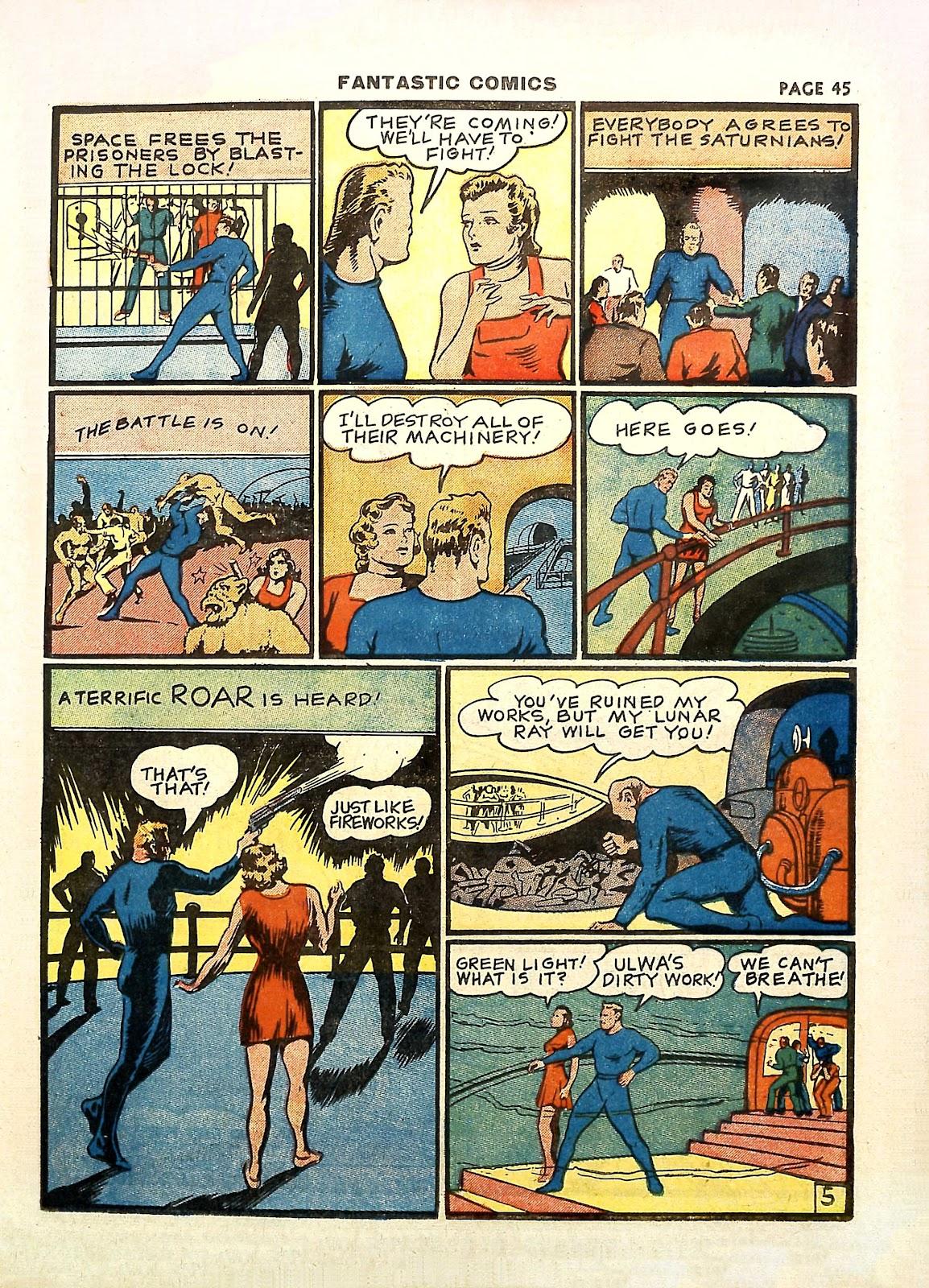 Read online Fantastic Comics comic -  Issue #11 - 48