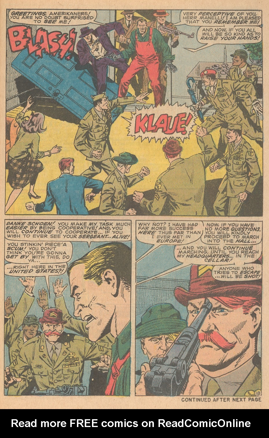 Read online Sgt. Fury comic -  Issue #68 - 25