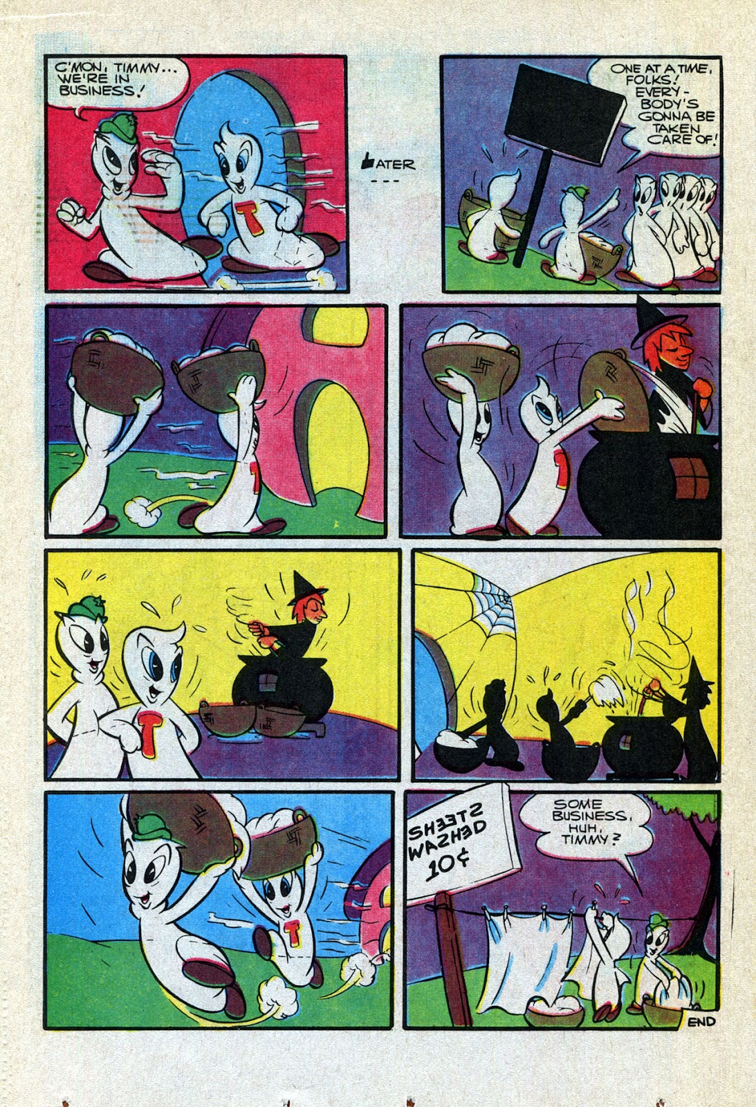 Read online Timmy the Timid Ghost comic -  Issue #24 - 20