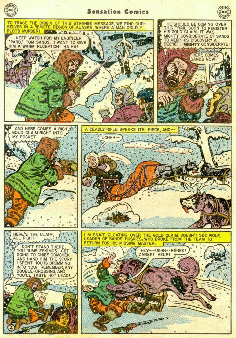 Read online Sensation (Mystery) Comics comic -  Issue #65 - 3