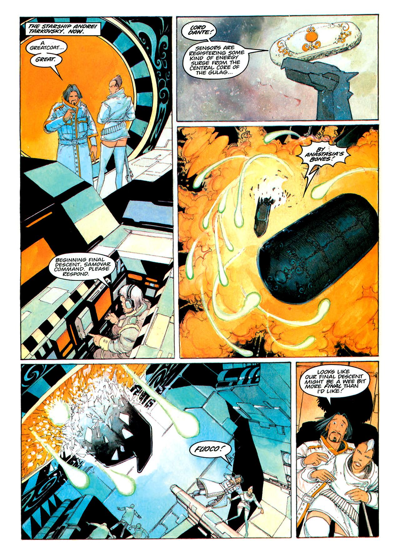 Read online Nikolai Dante comic -  Issue # TPB 1 - 160