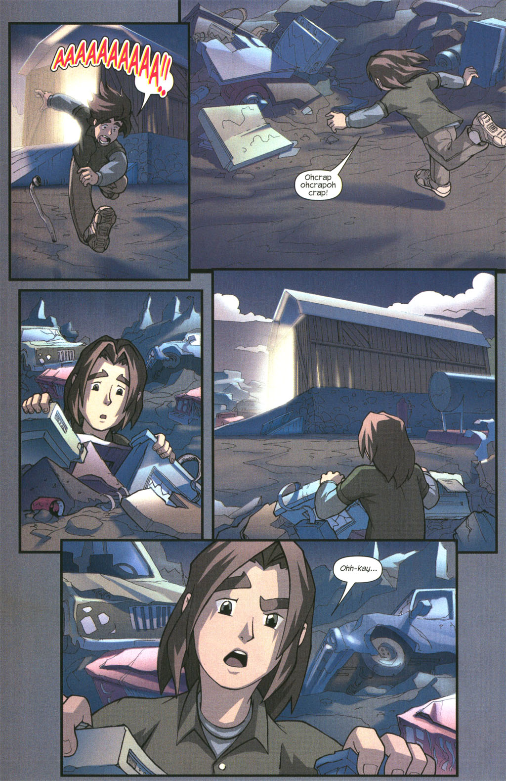 Read online Sentinel comic -  Issue #2 - 18