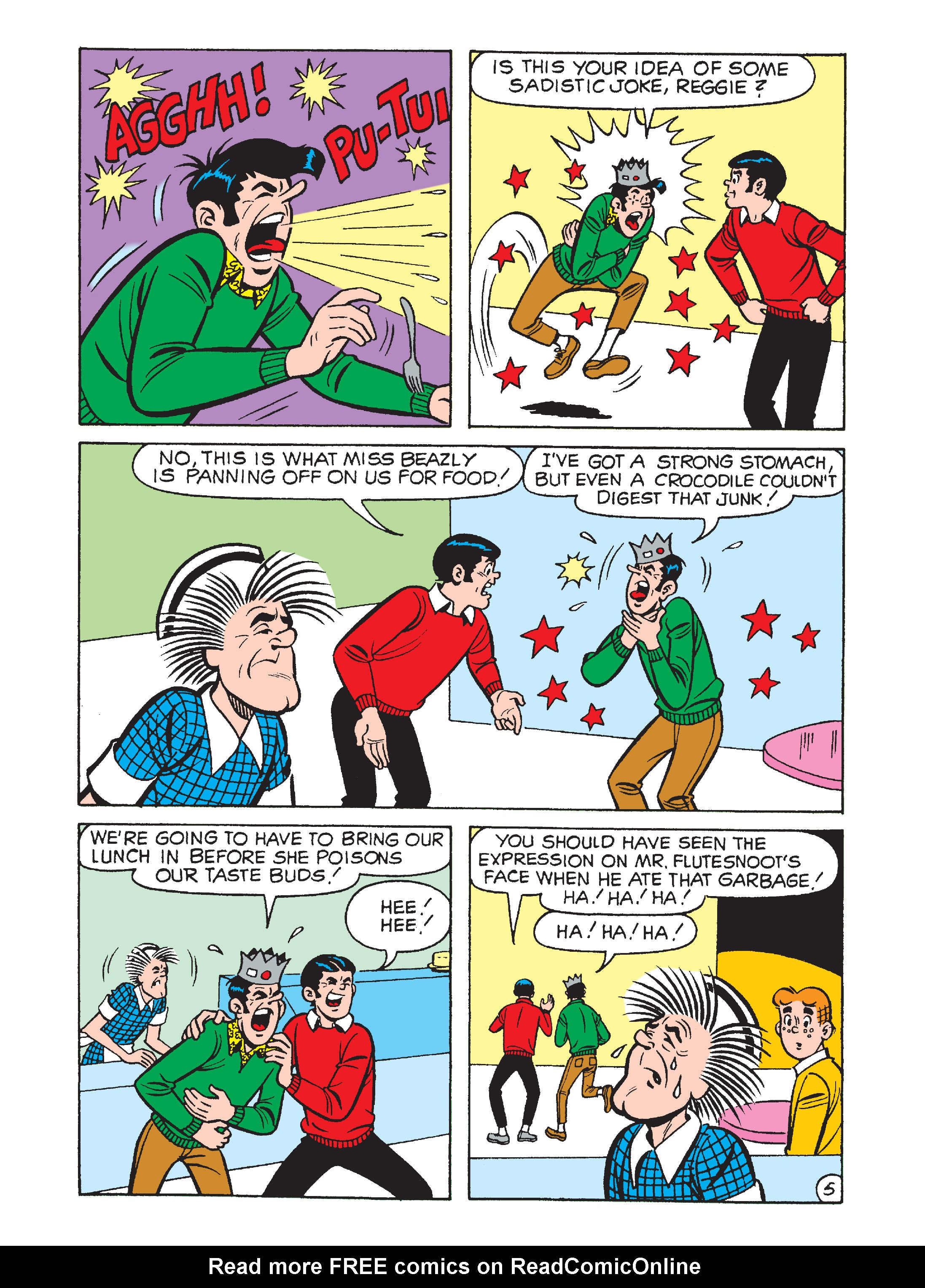 Read online Archie 1000 Page Comics Bonanza comic -  Issue #2 (Part 2) - 143