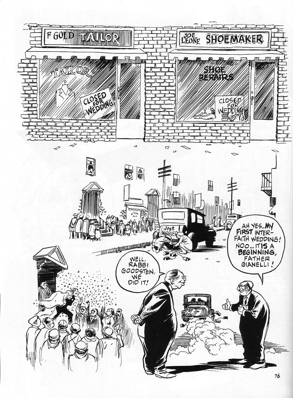 Read online Dropsie Avenue, The Neighborhood comic -  Issue # Full - 78