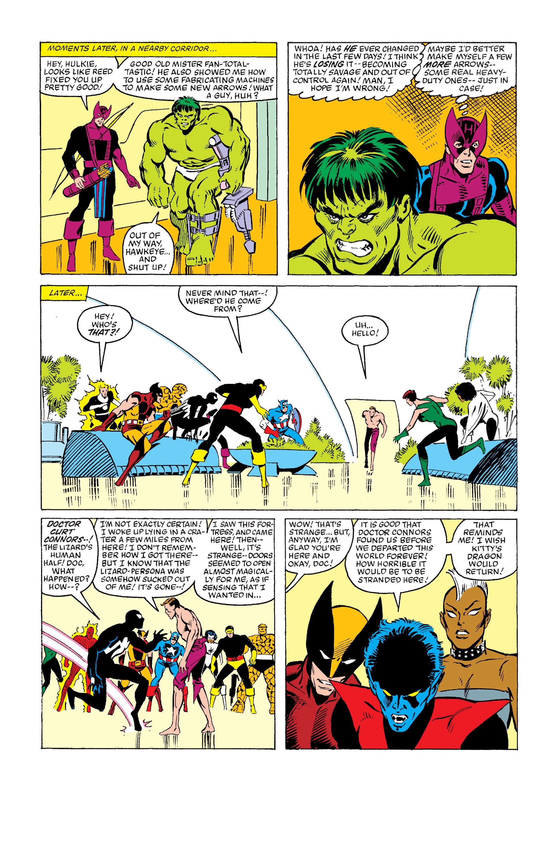 Read online Secret Wars (1985) comic -  Issue #12 - 38
