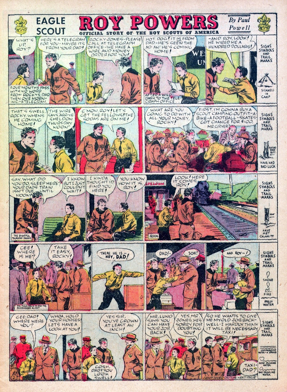 Read online Famous Funnies comic -  Issue #45 - 7