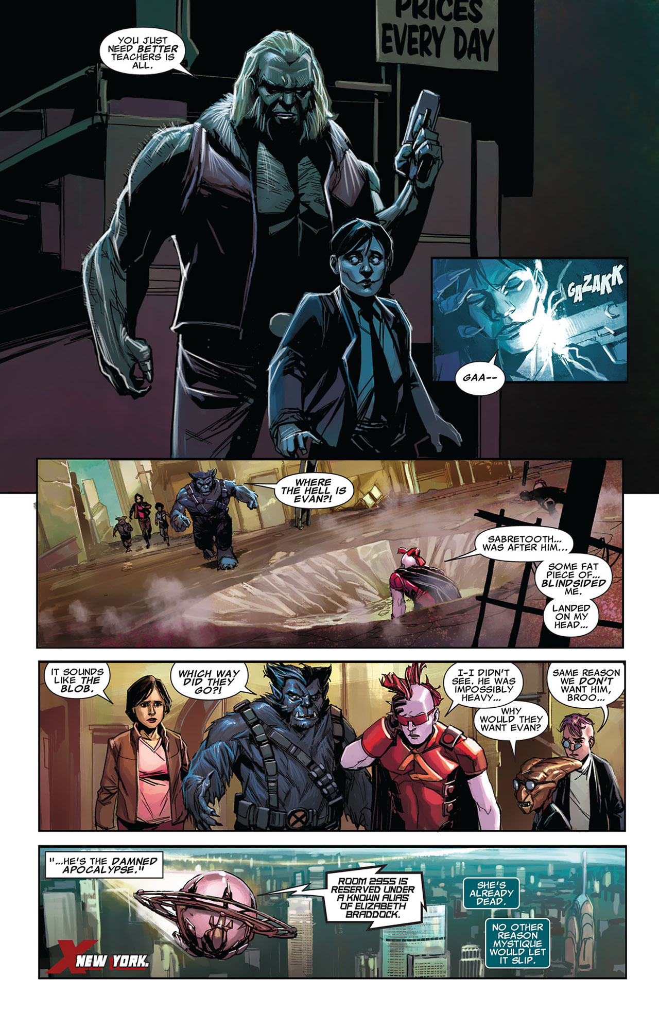 Read online Uncanny X-Force (2010) comic -  Issue #27 - 8