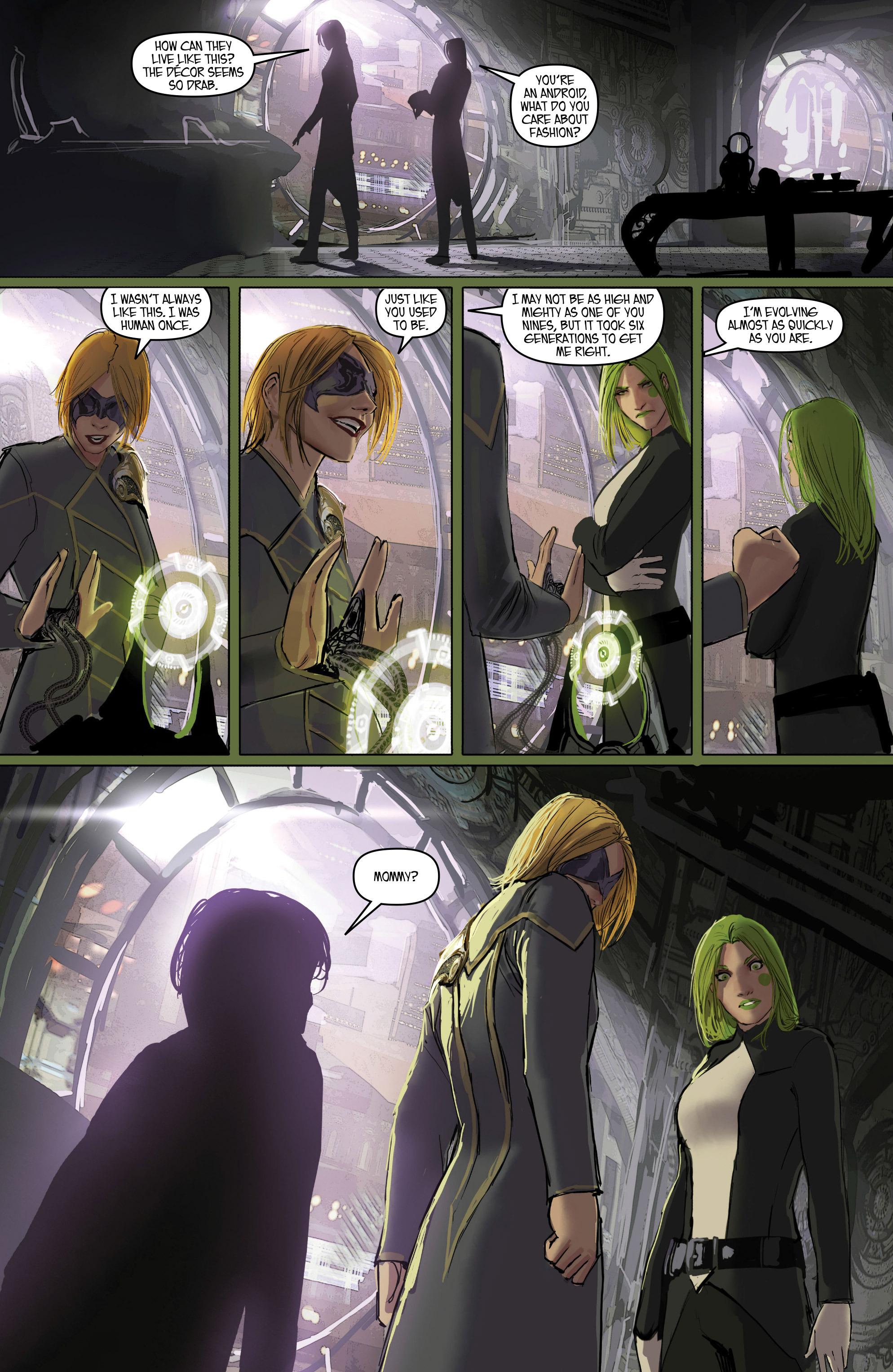 Read online Aphrodite IX (2013) comic -  Issue #Aphrodite IX (2013) _TPB 2 - 63