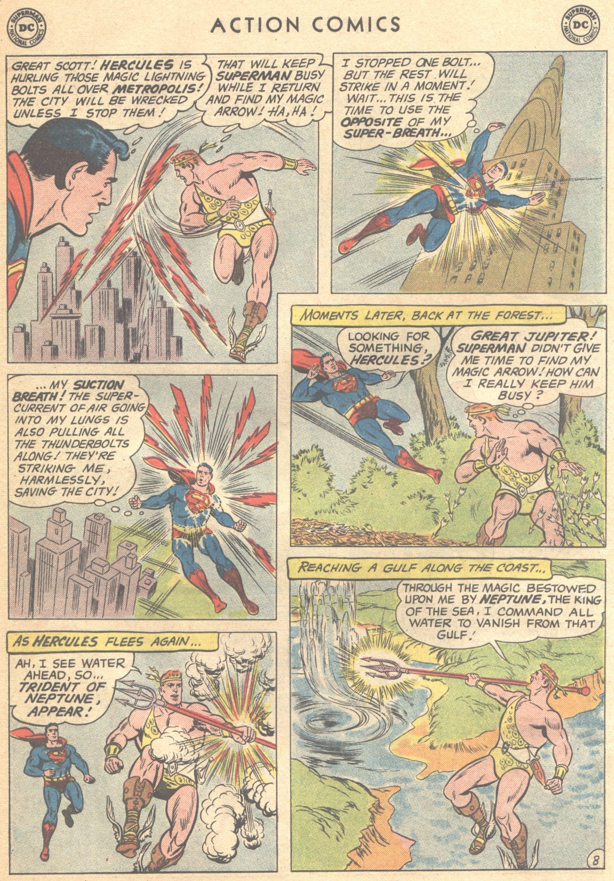 Read online Action Comics (1938) comic -  Issue #268 - 10