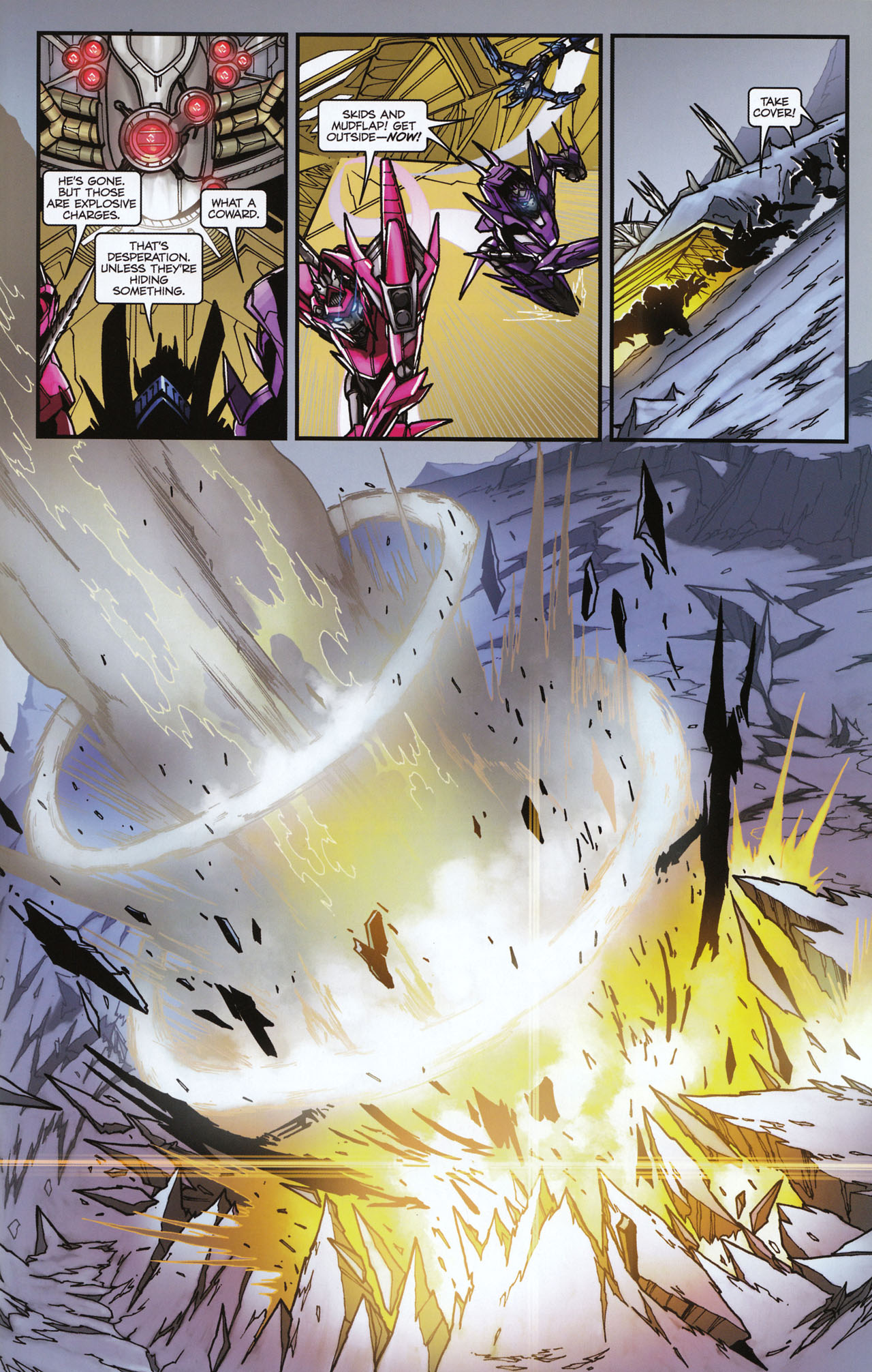 Read online Transformers: Tales of The Fallen comic -  Issue #6 - 23