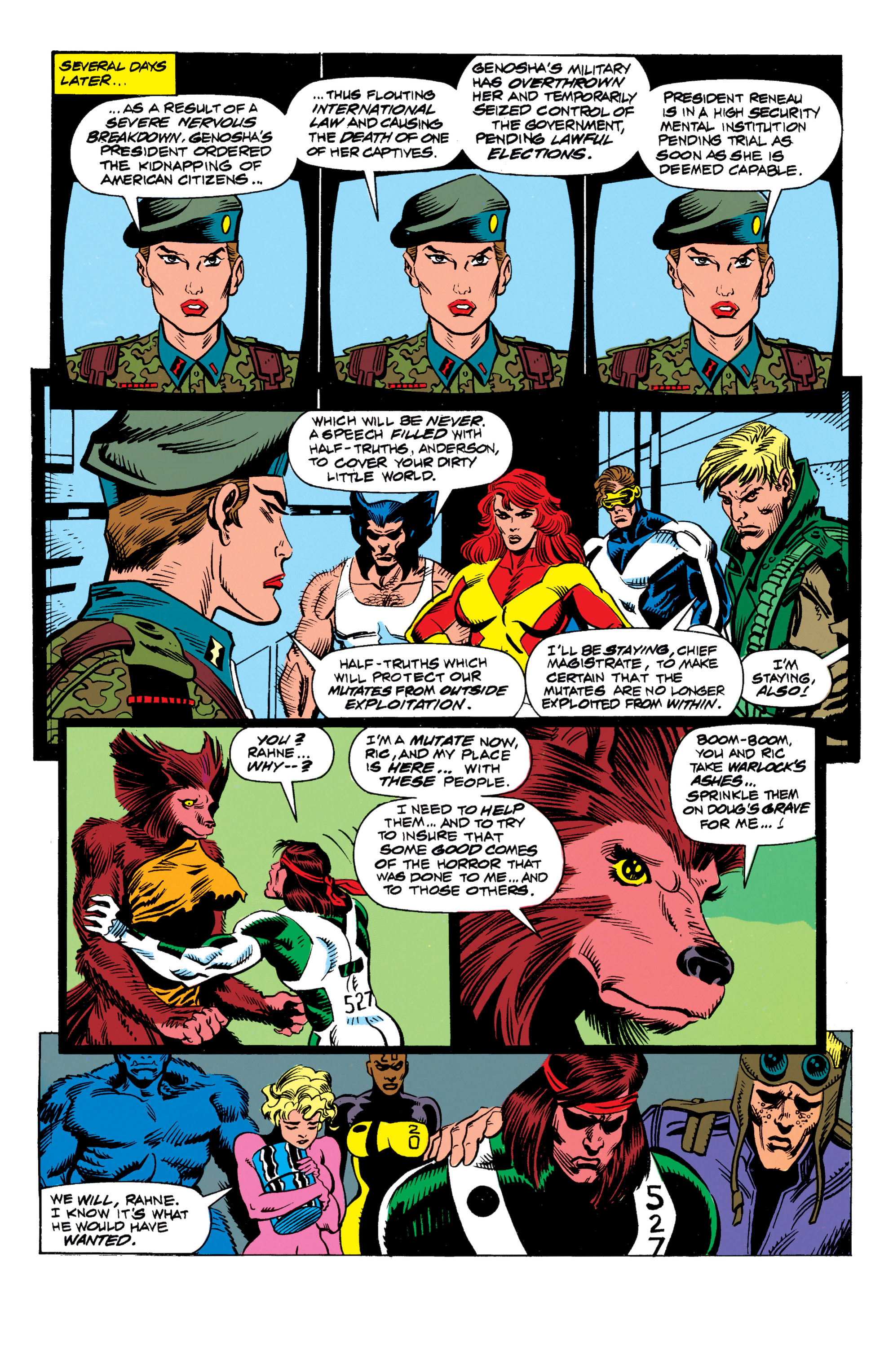 Read online X-Factor (1986) comic -  Issue #62 - 23