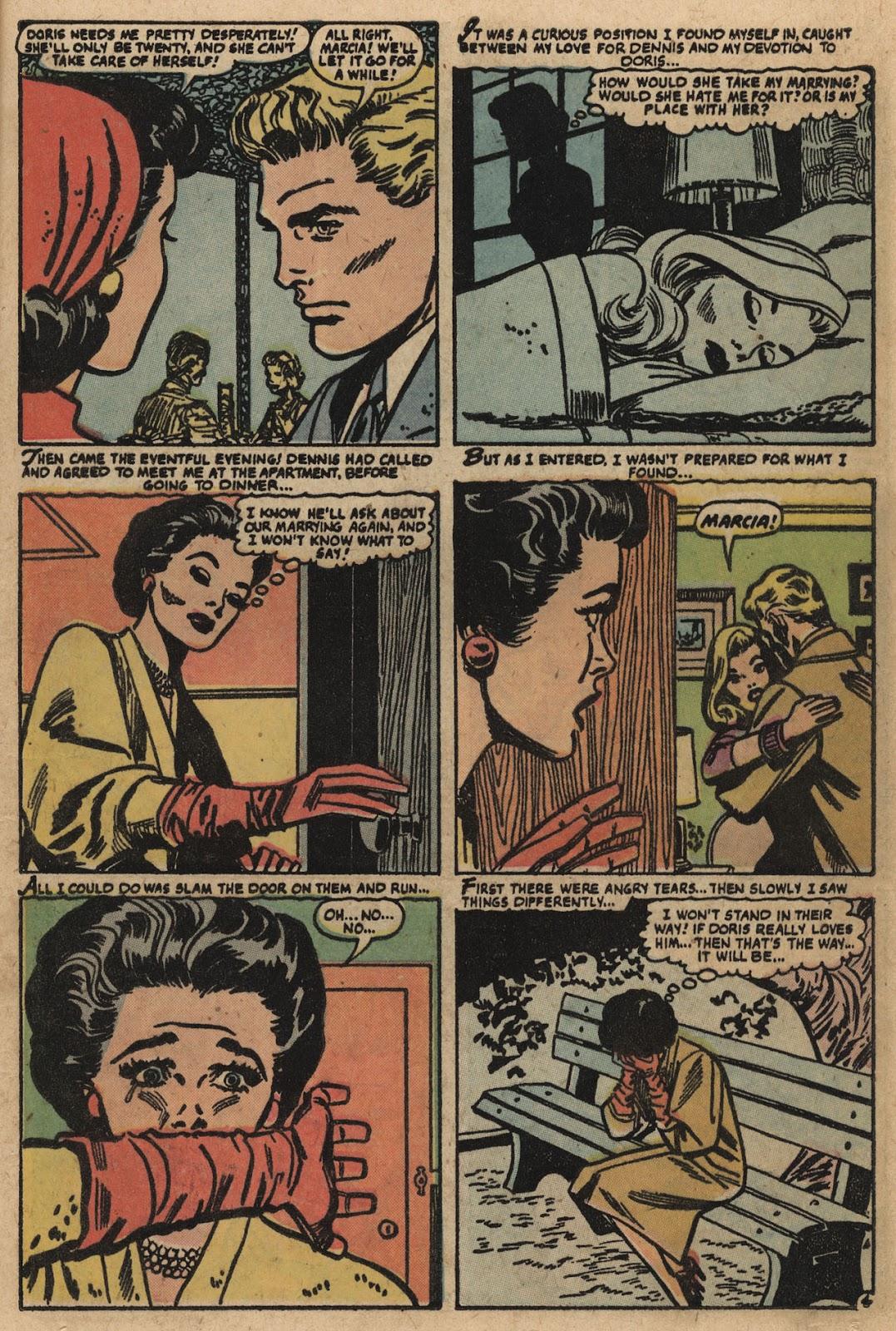 Love Romances (1949) issue 66 - Page 13