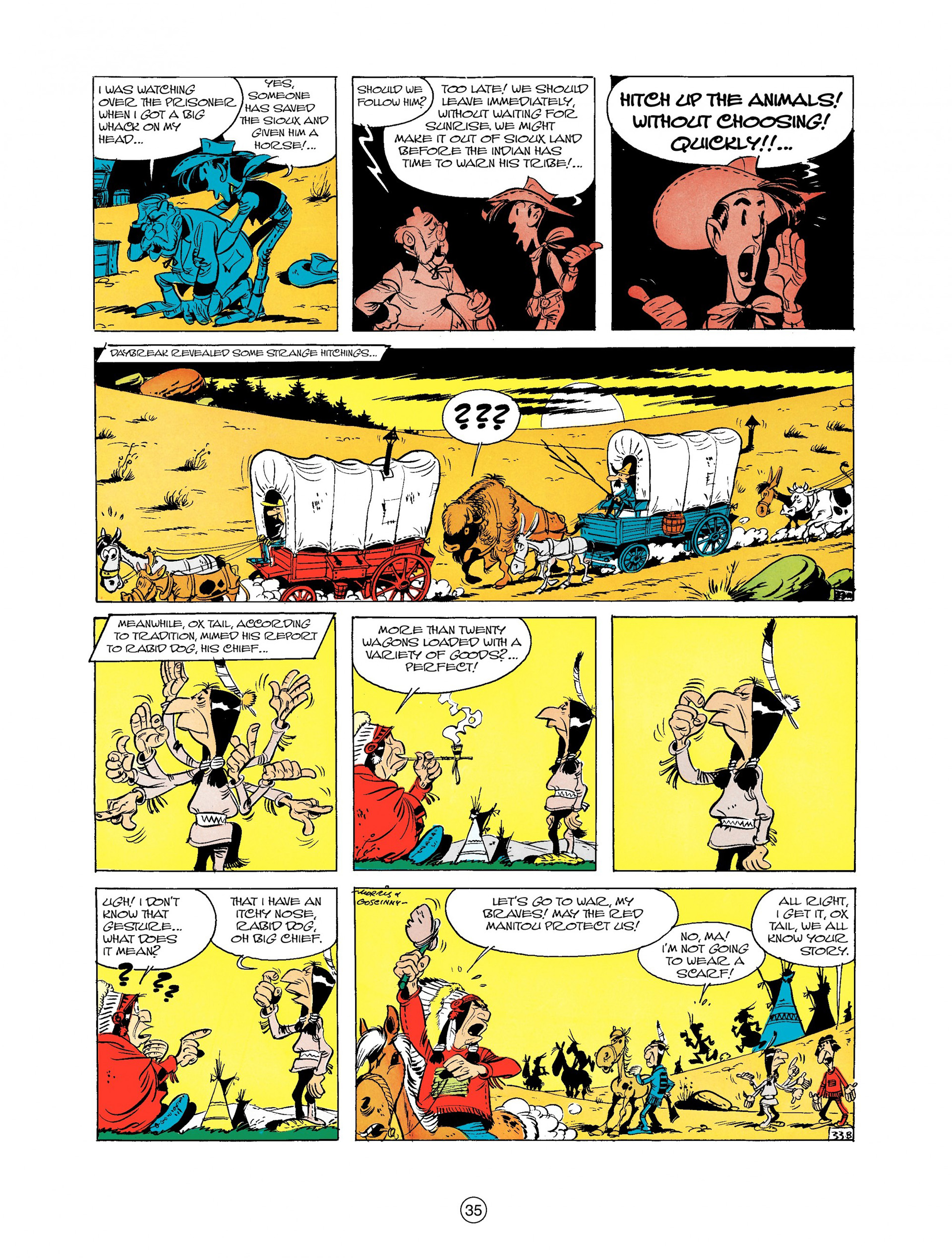 Read online A Lucky Luke Adventure comic -  Issue #9 - 35