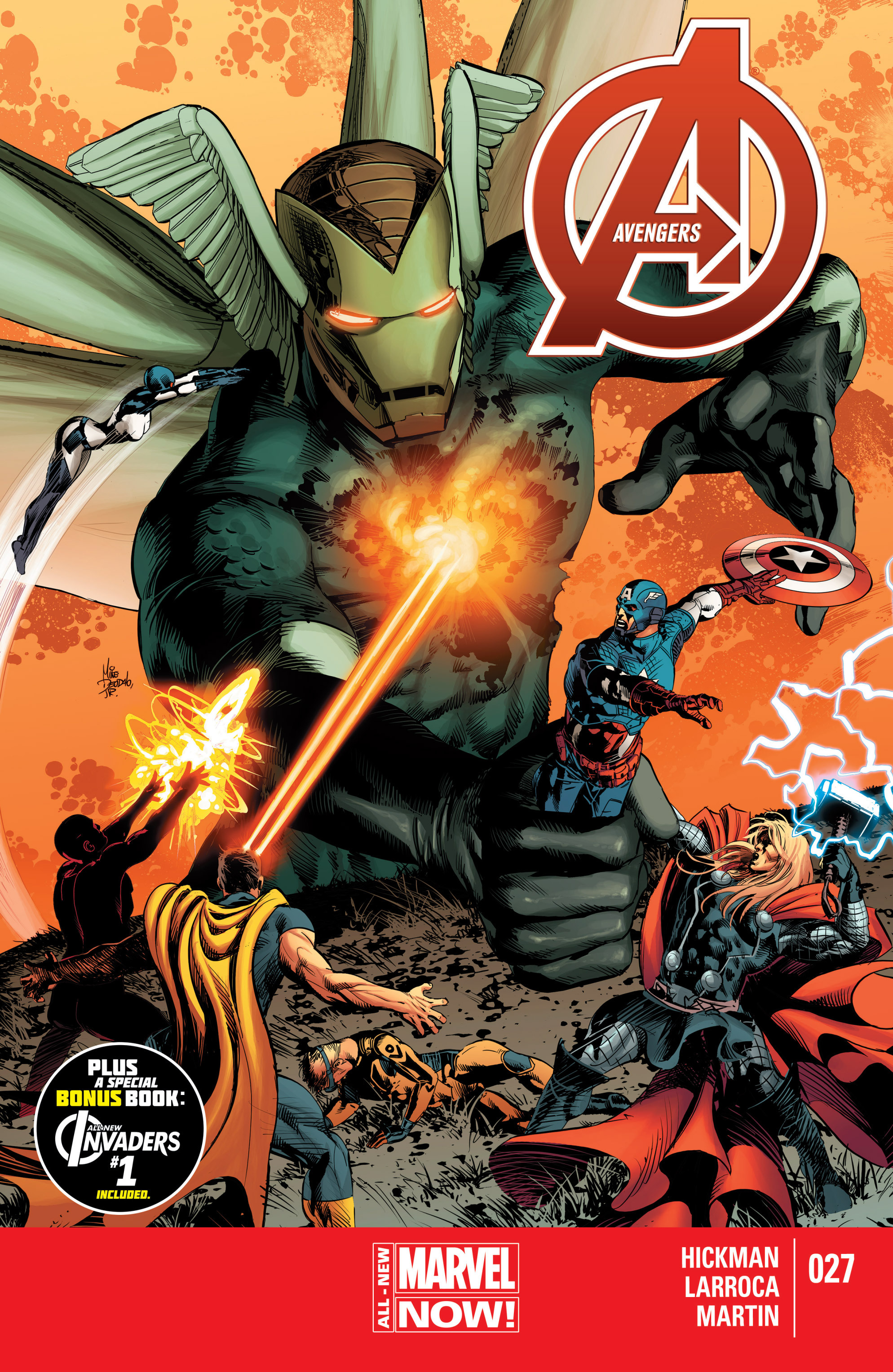Read online Avengers (2013) comic -  Issue #27 - 1