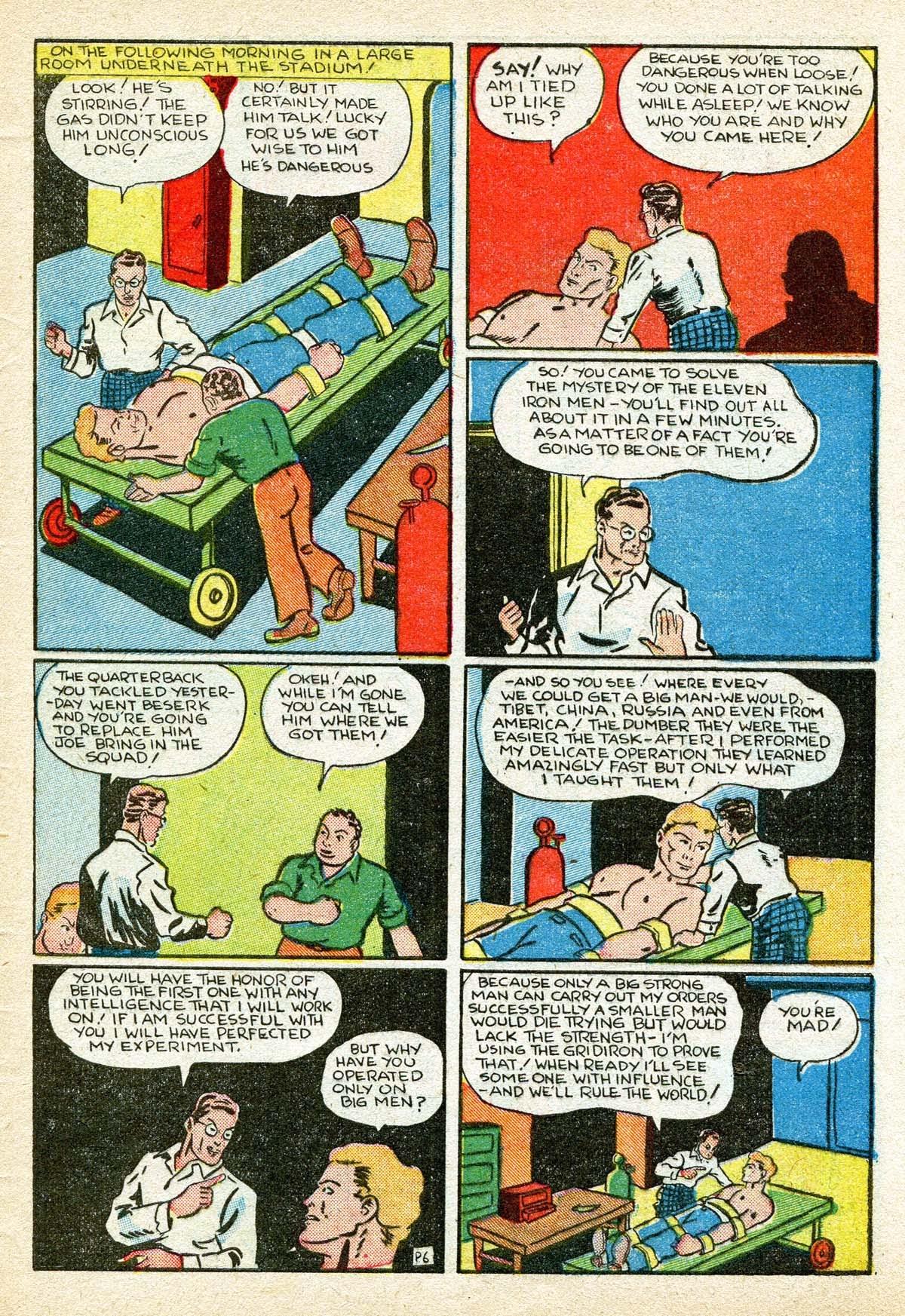Read online Amazing Man Comics comic -  Issue #8 - 57