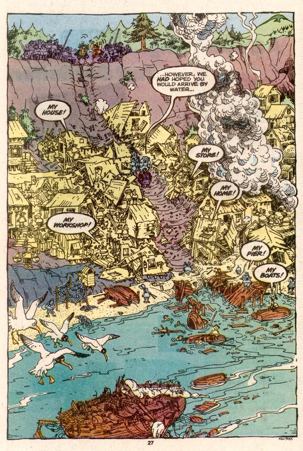 Read online Sergio Aragonés Groo the Wanderer comic -  Issue #69 - 22