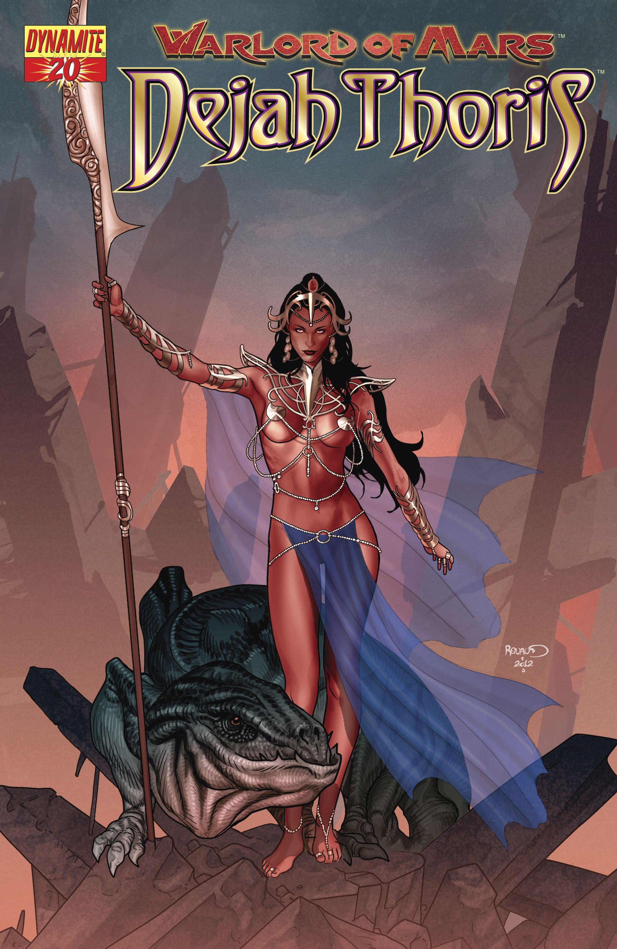 Warlord Of Mars: Dejah Thoris 20 Page 1