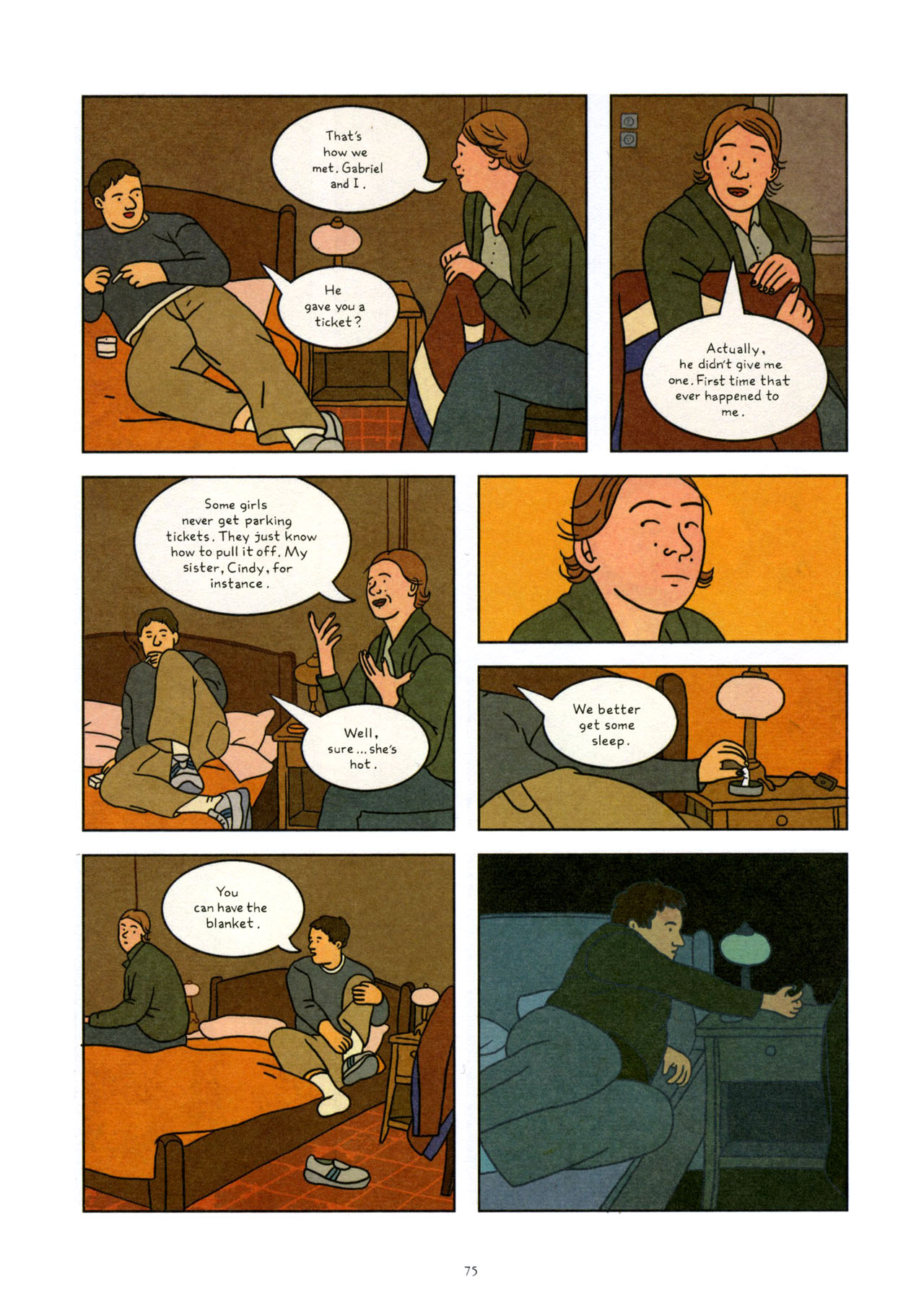 Read online Exit Wounds comic -  Issue # TPB - 76