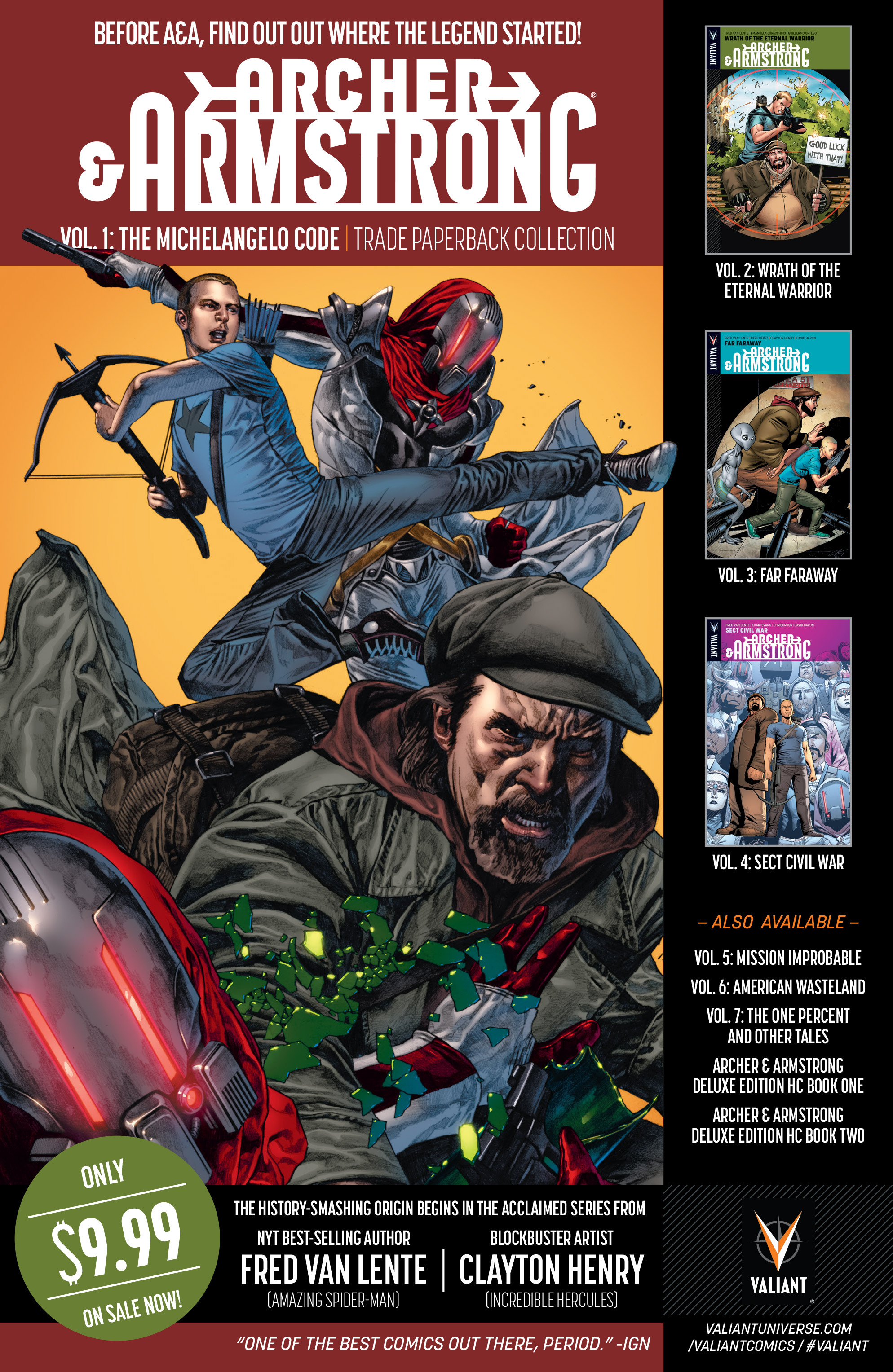 Read online A&A: The Adventures of Archer & Armstrong comic -  Issue #6 - 29