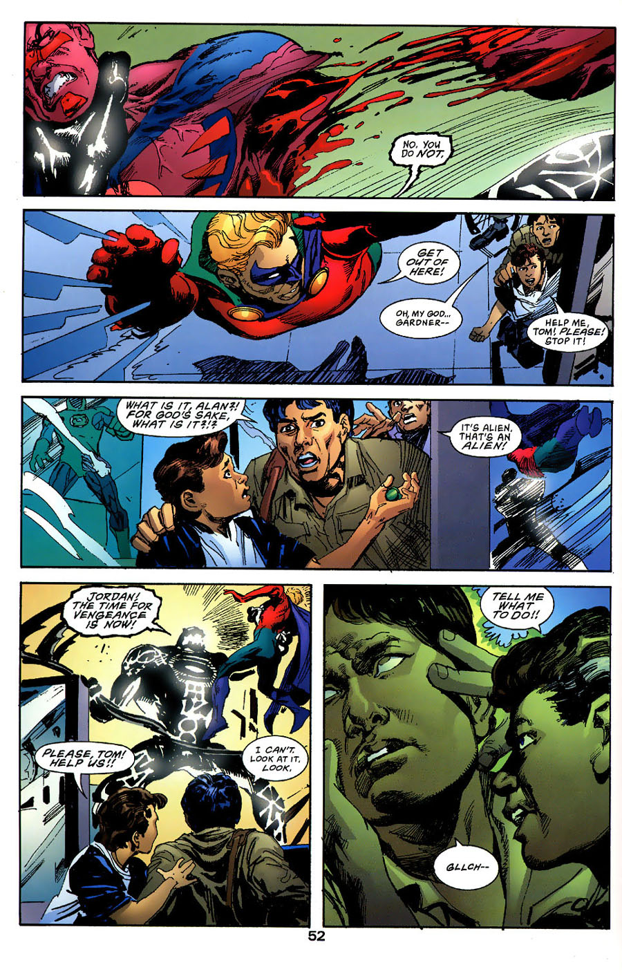 Read online Green Lantern: Legacy: The Last Will and Testament of Hal Jordan comic -  Issue # TPB - 57