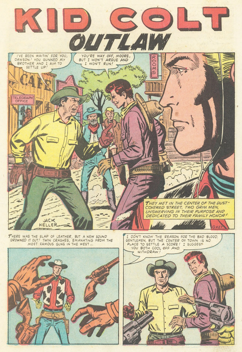 Kid Colt Outlaw issue 52 - Page 27